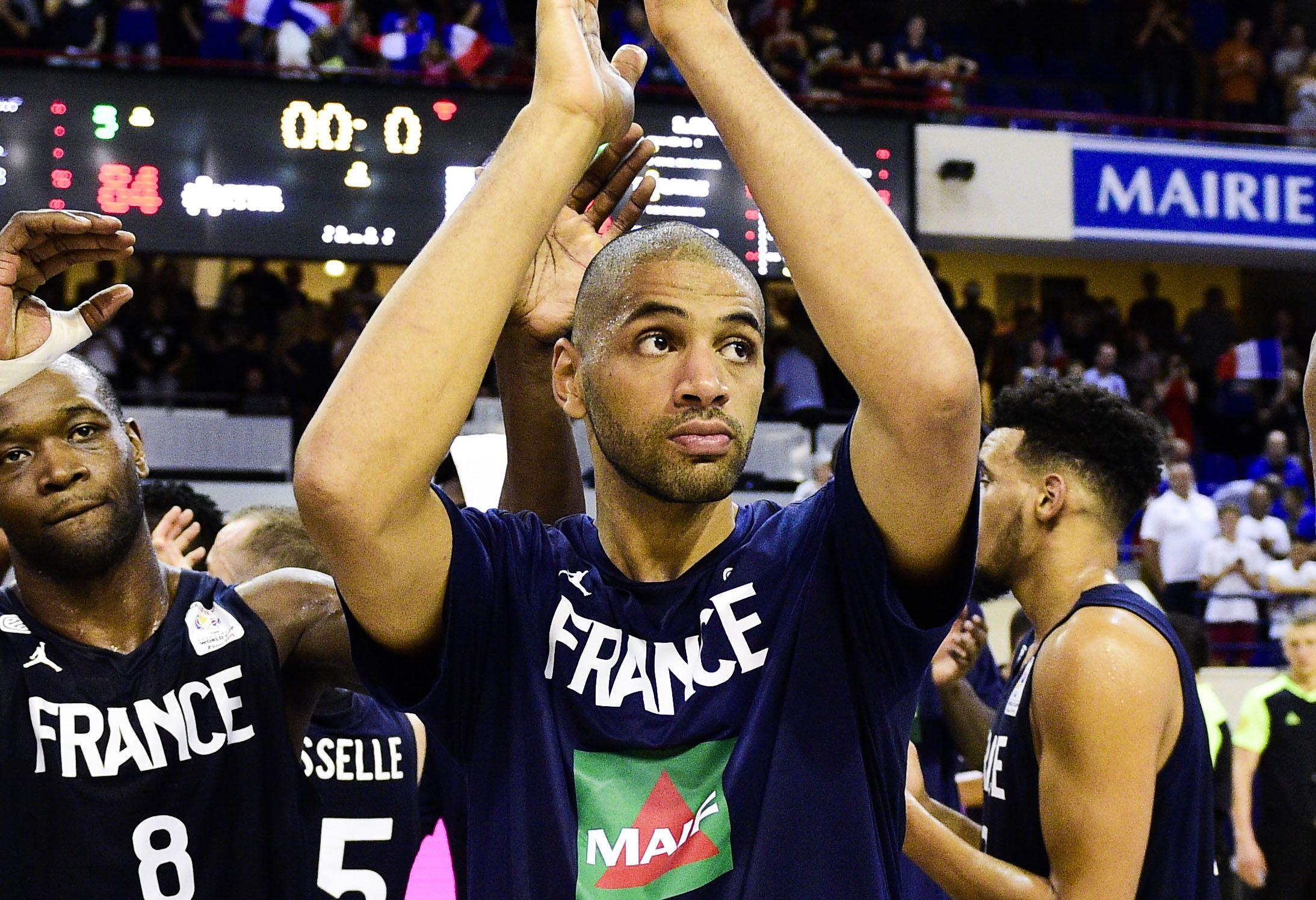 Basket - Equipe de France - Les Bleus se reprennent face à la Finlande et ont un pied au Mondial