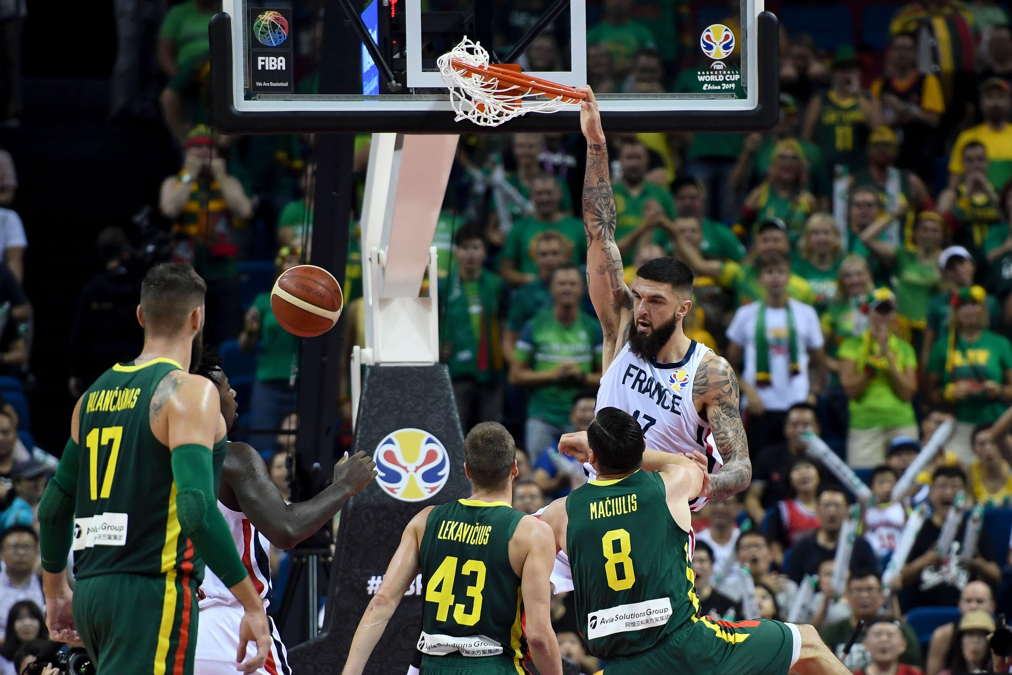 match basket france espagne 2018