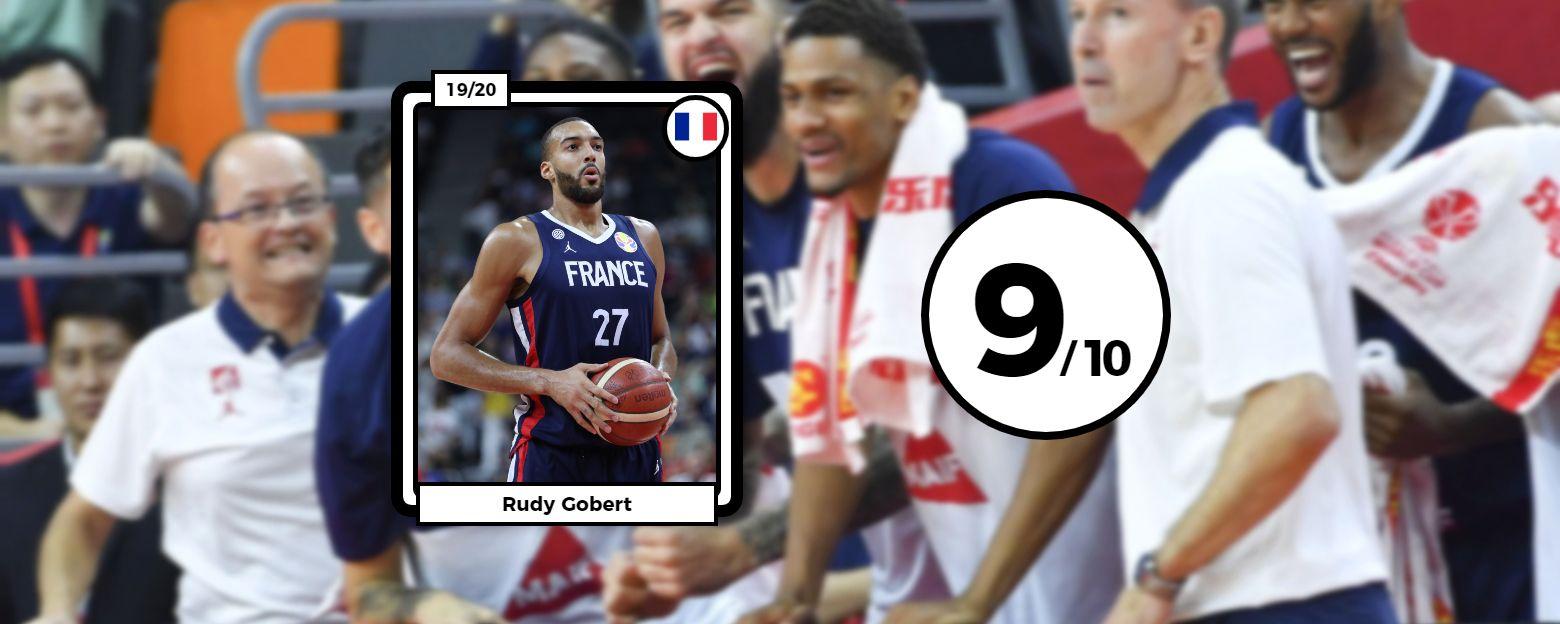 Basket - Equipe de France - Les notes des Bleus après l'exploit face à Team USA : Gobert monstrueux, l'étincelle Ntilikina