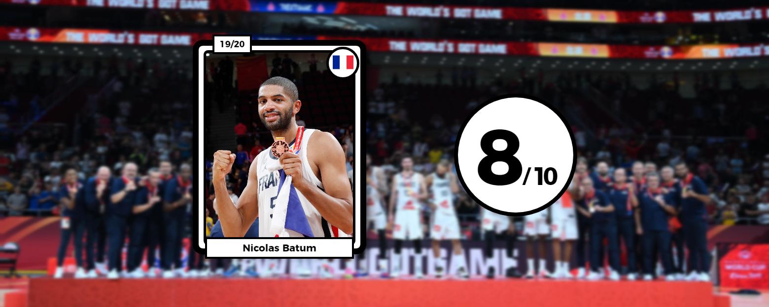 Basket - Equipe de France - Les notes des Bleus : Batum sonne la révolte, De Colo et Albicy font le reste