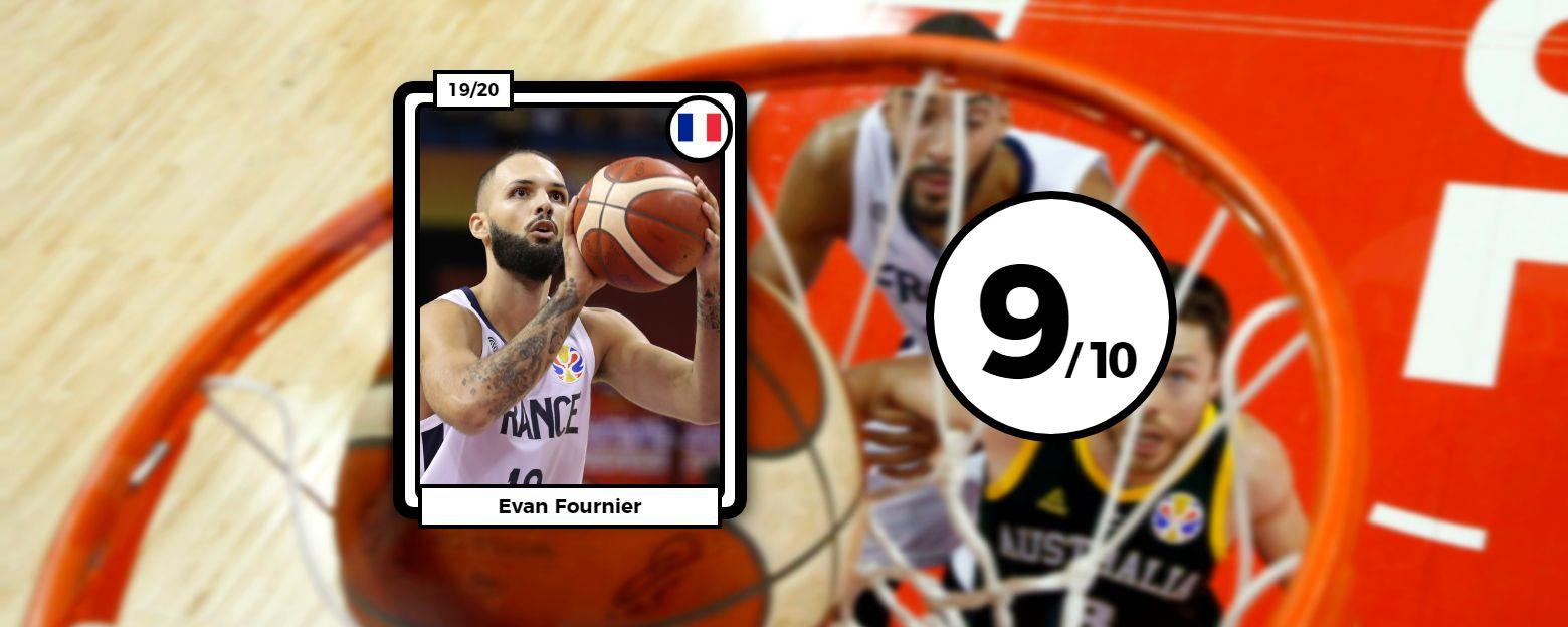 Basket - Equipe de France - Les notes des Bleus : Fournier et De Colo en feu, Gobert perméable