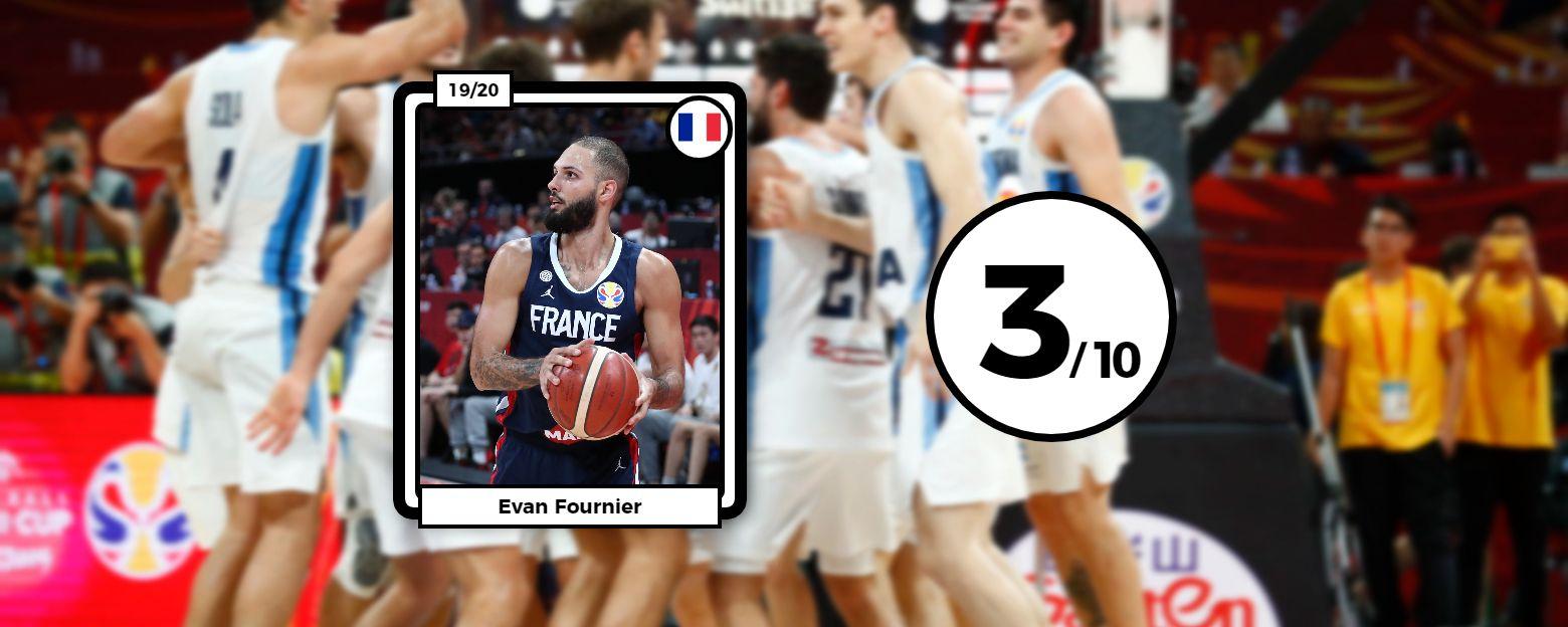 Basket - Equipe de France - Les notes des Bleus : Ntilikina surnage, Fournier et les cadres impuissants