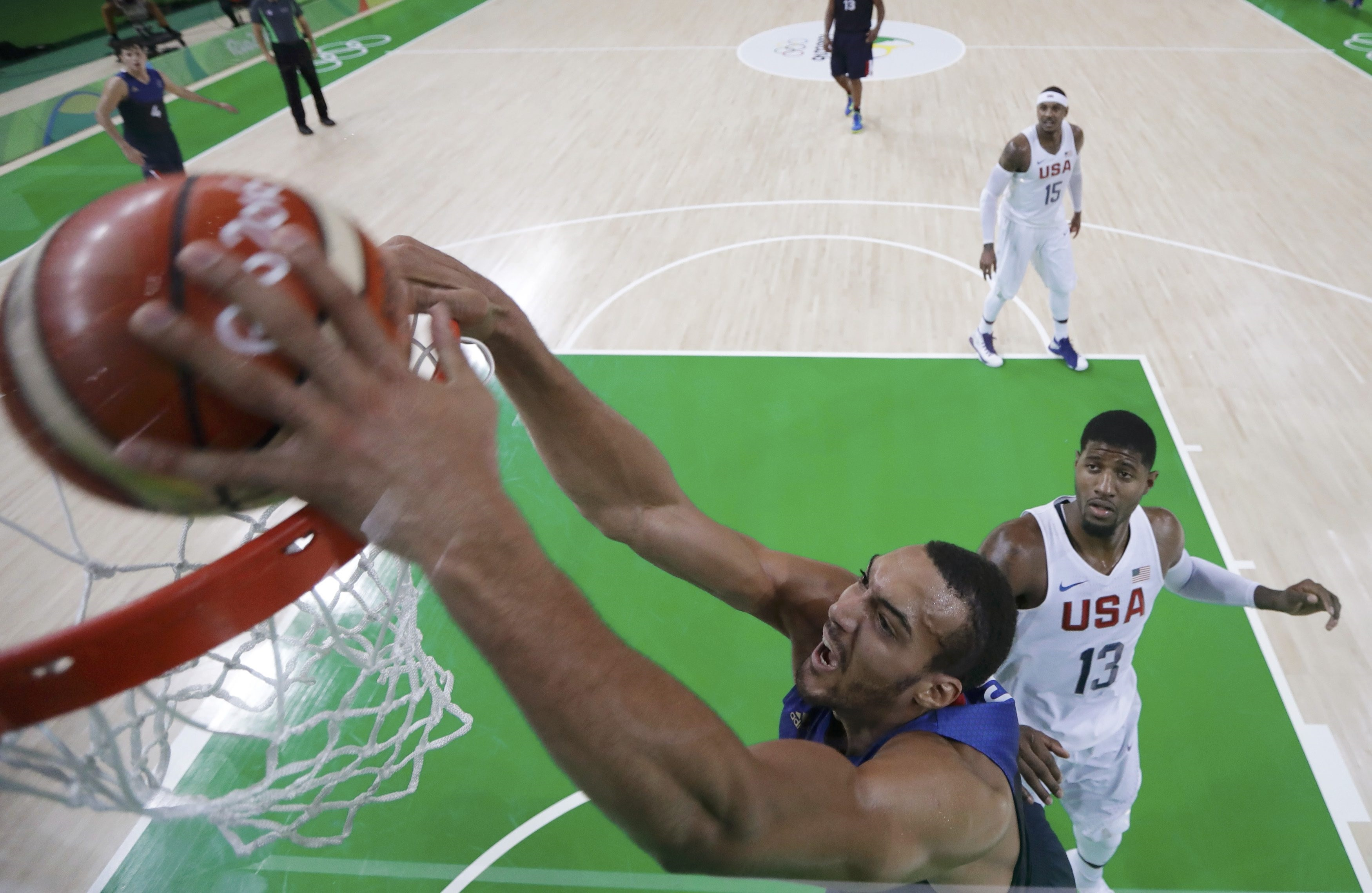 Basket - Equipe de France - «Motivé» pour l'Euro 2017, Rudy Gobert attend l'accord du Jazz