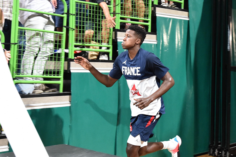 Basket - Equipe de France - Ntilikina veut «tout donner en hommage» à Moerman