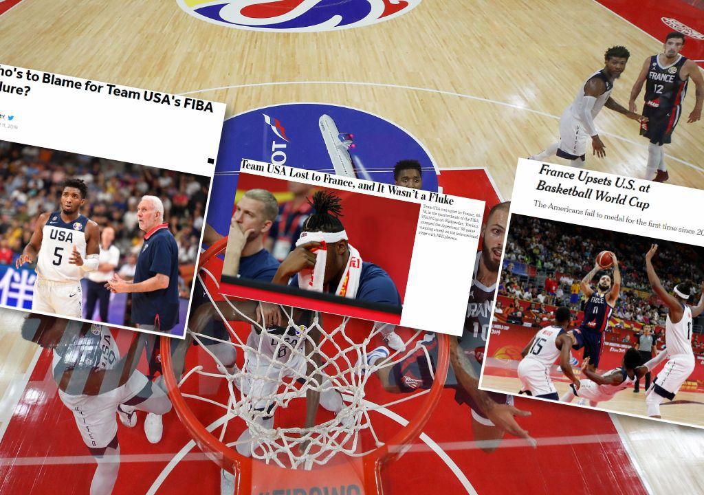 Basket - Equipe de France - La défaite de Team USA face aux Bleus, vue par la presse américaine