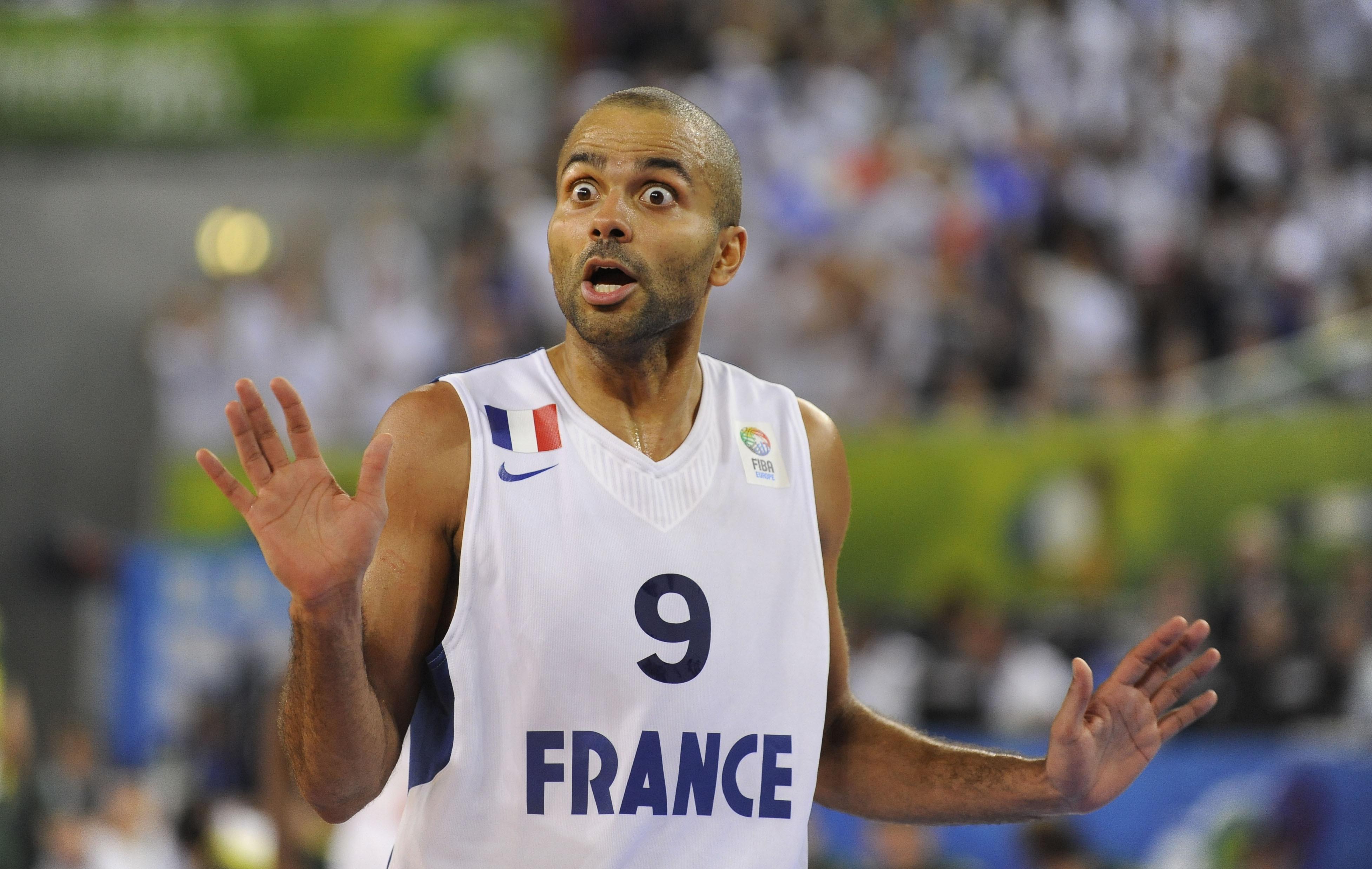 Tony parker forfait pour la coupe du monde equipe de france basket - Coupe du monde de basket ...