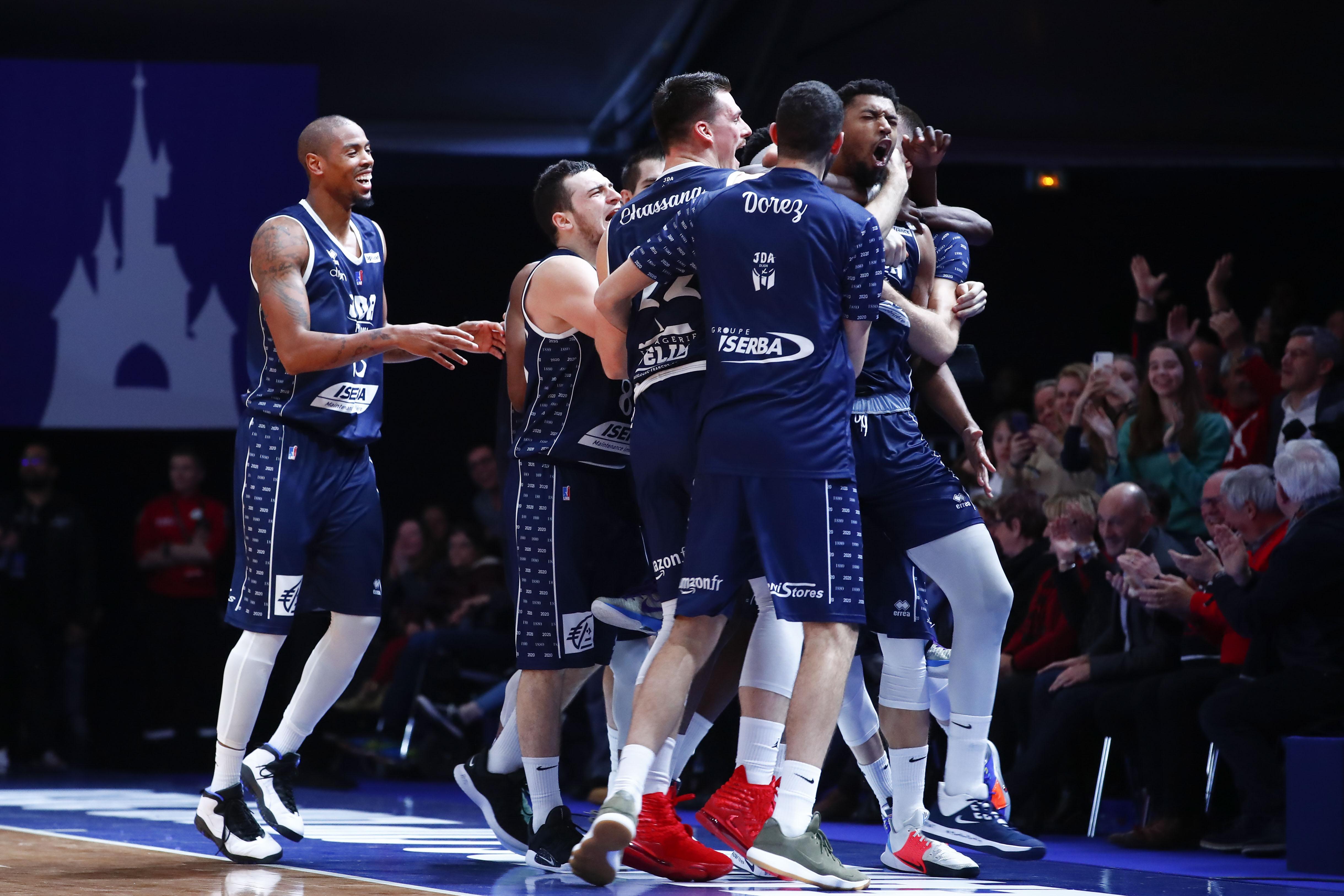 Basket - Jeep ELITE - A la folie, Dijon défiera l'ASVEL finale de la Leaders Cup