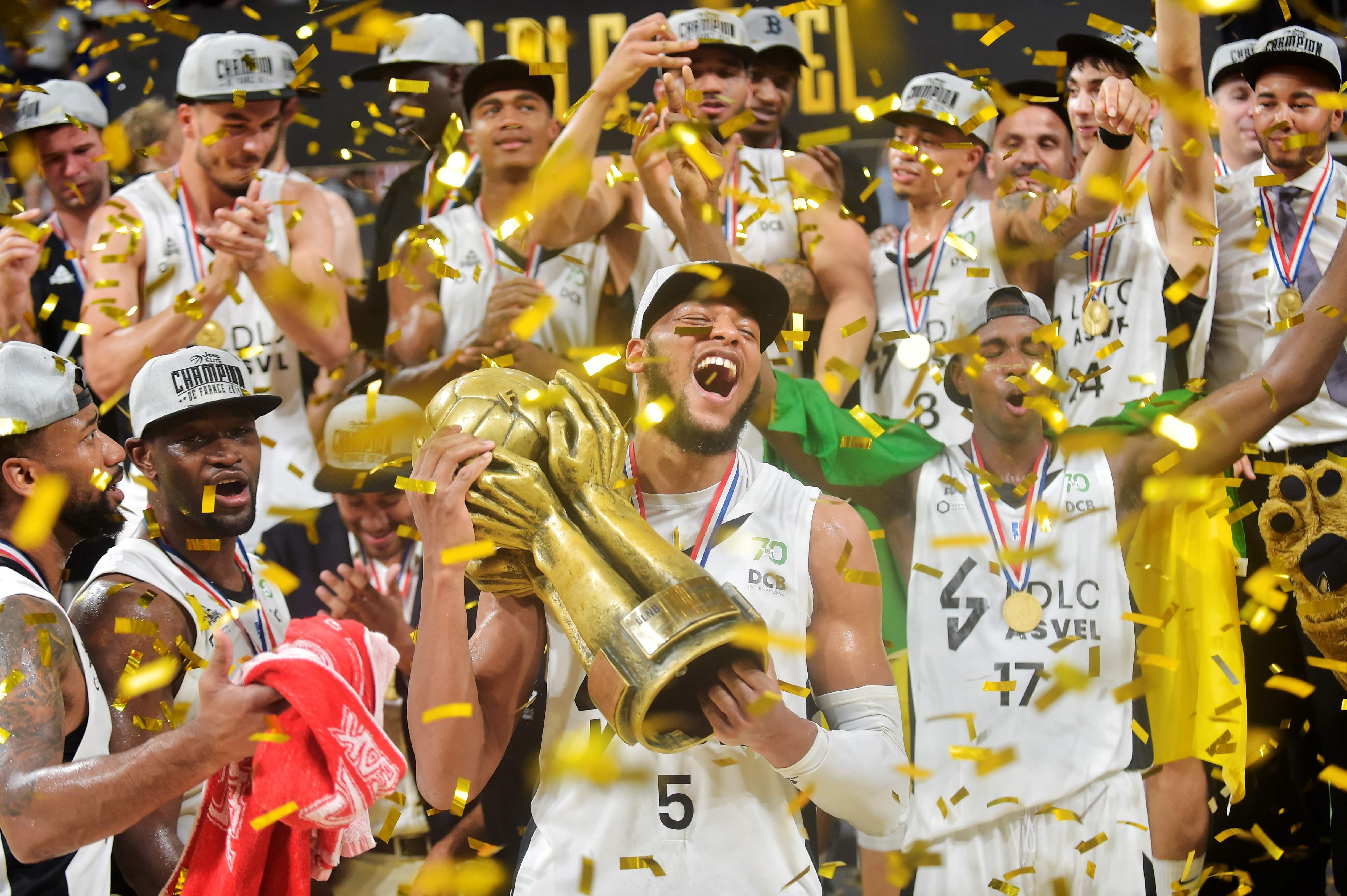 Basket - Jeep ELITE - Jeep Elite : l'ASVEL de Tony Parker championne de France pour la 19e fois