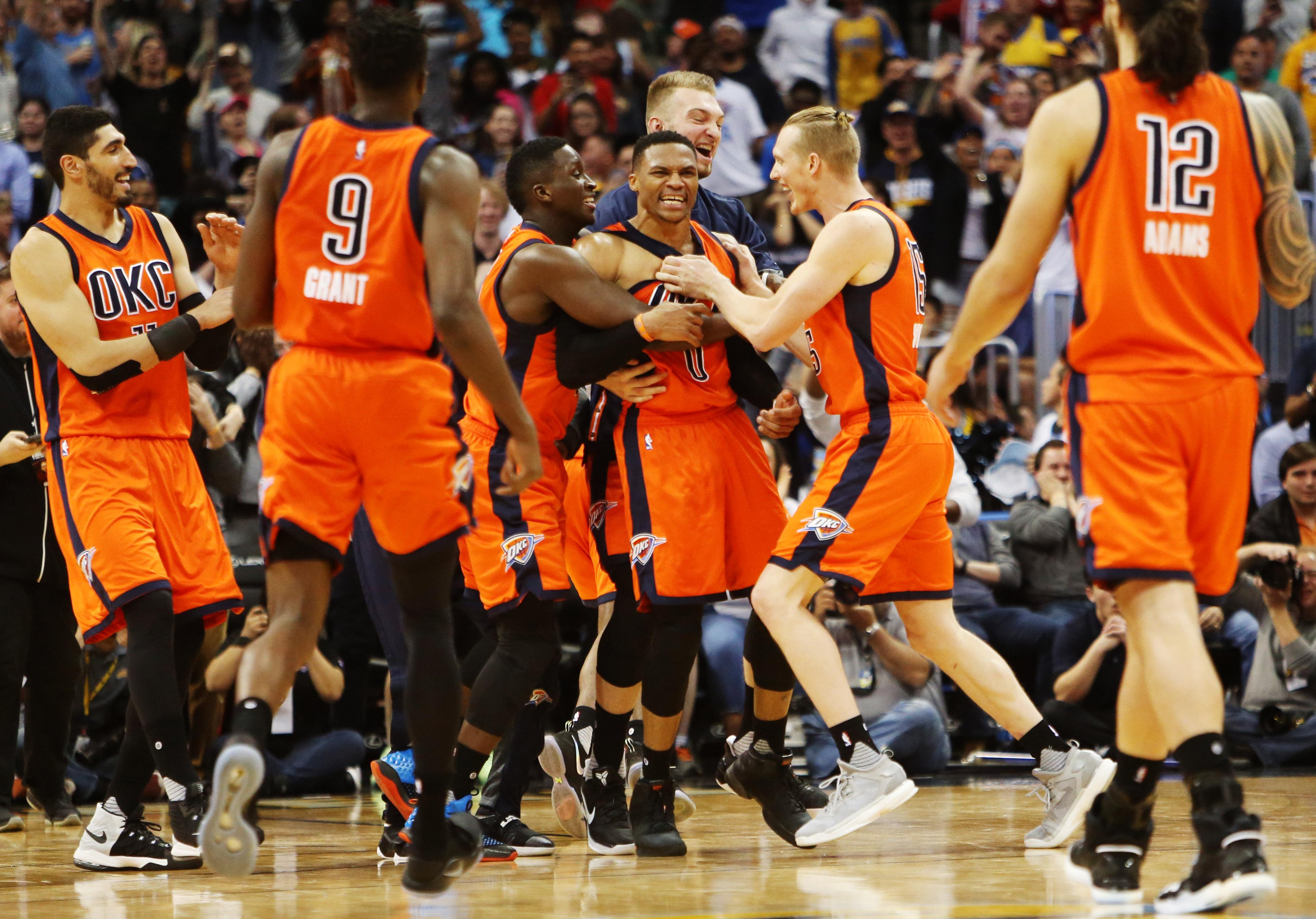 15 chiffres qui symbolisent la démesure de Westbrook, l\u0027homme,orchestre  d\u0027OKC , NBA , Basket