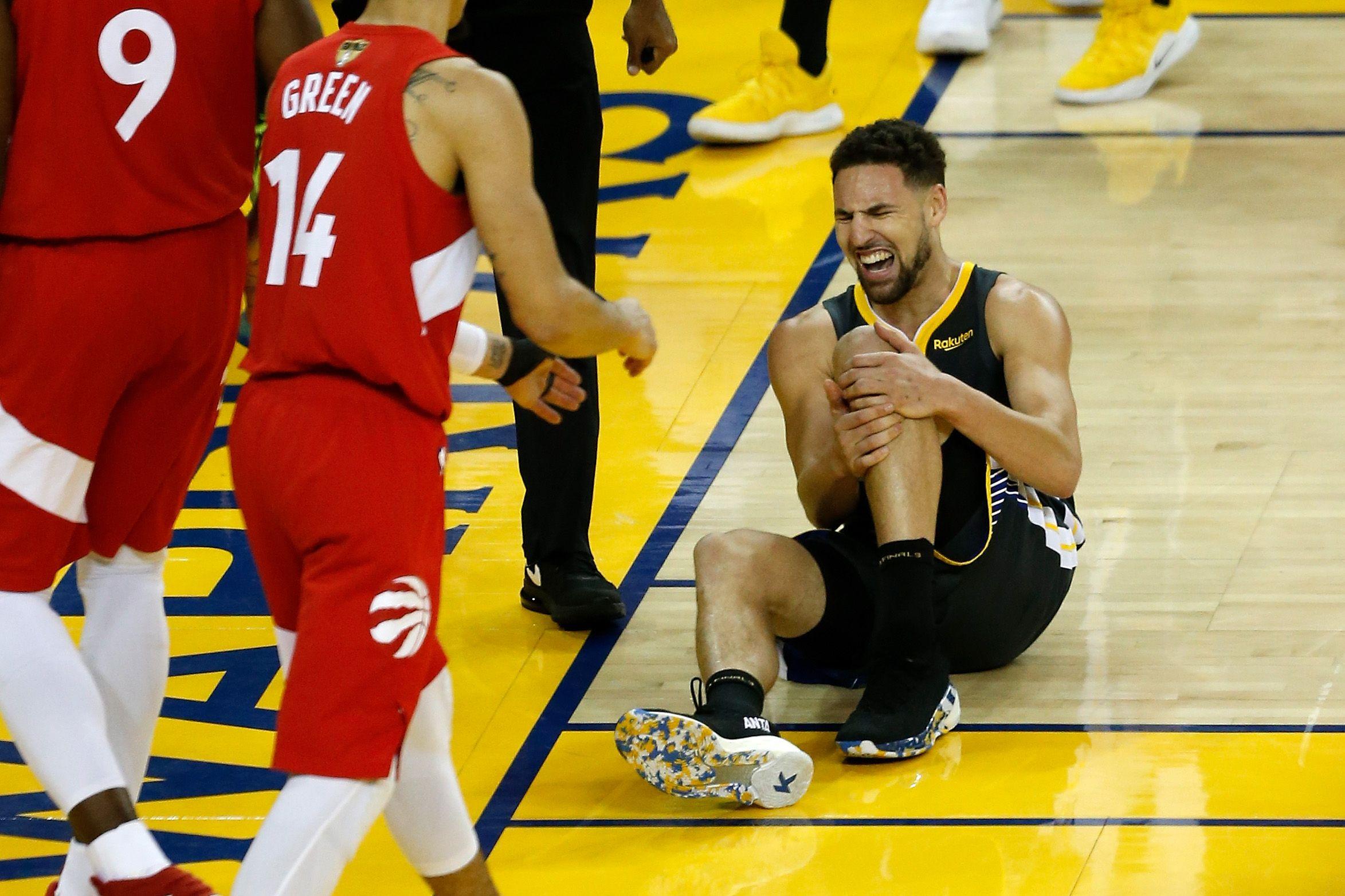 Basket - NBA - Après Durant, au tour de Thompson : Golden State a perdu plus qu'une finale
