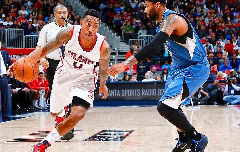 Basket - NBA - Atlanta plane