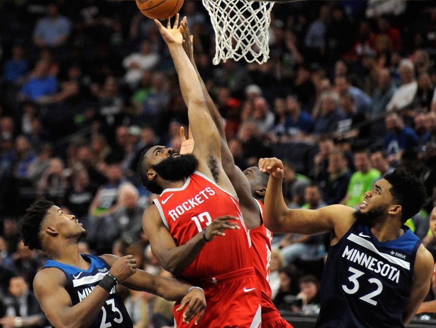 Basket - NBA - Houston fait exploser Minnesota, Utah toujours inflexible