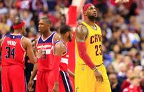 LeBron James 23 Cleveland Cavaliers Washington Wizards Verizon Cente