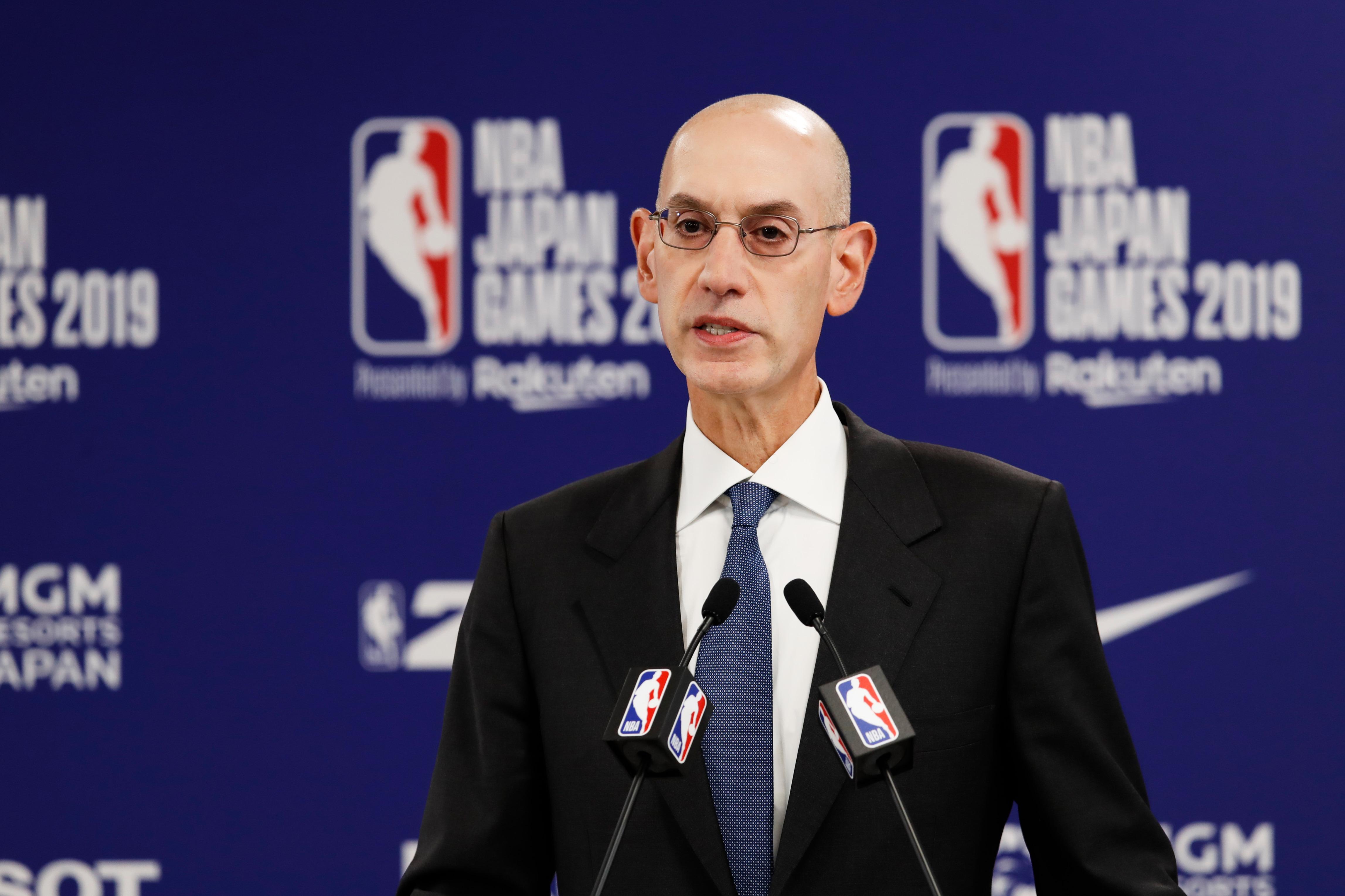 Basket - NBA - Coronavirus : les pistes d'Adam Silver pour la reprise