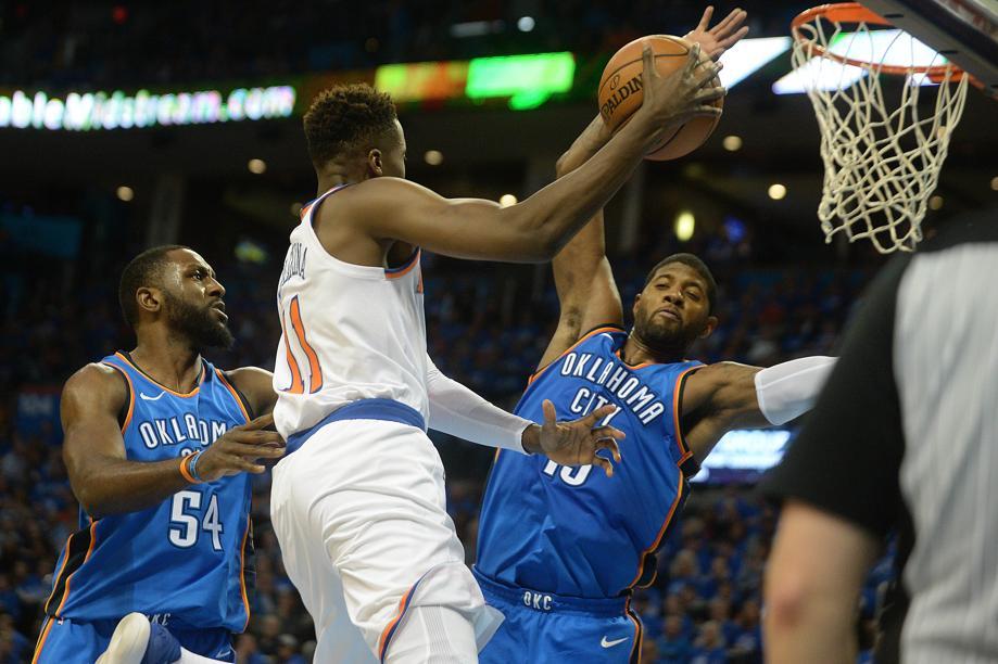 Basket - NBA - Débuts timides pour le Français Ntilikina, Westbrook déjà en feu