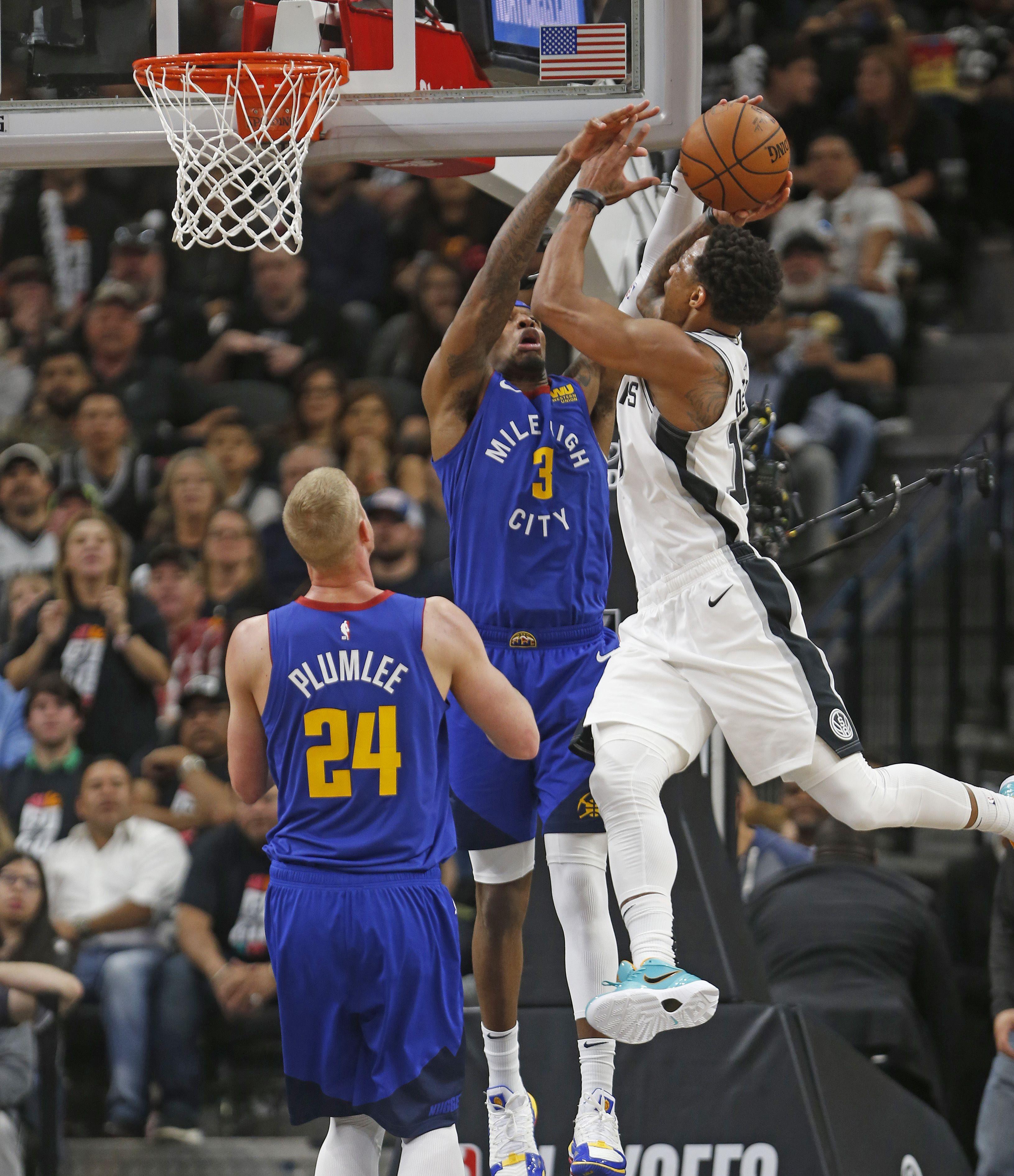 Basket - NBA - Denver craque à San Antonio, Philadelphie croque Brooklyn