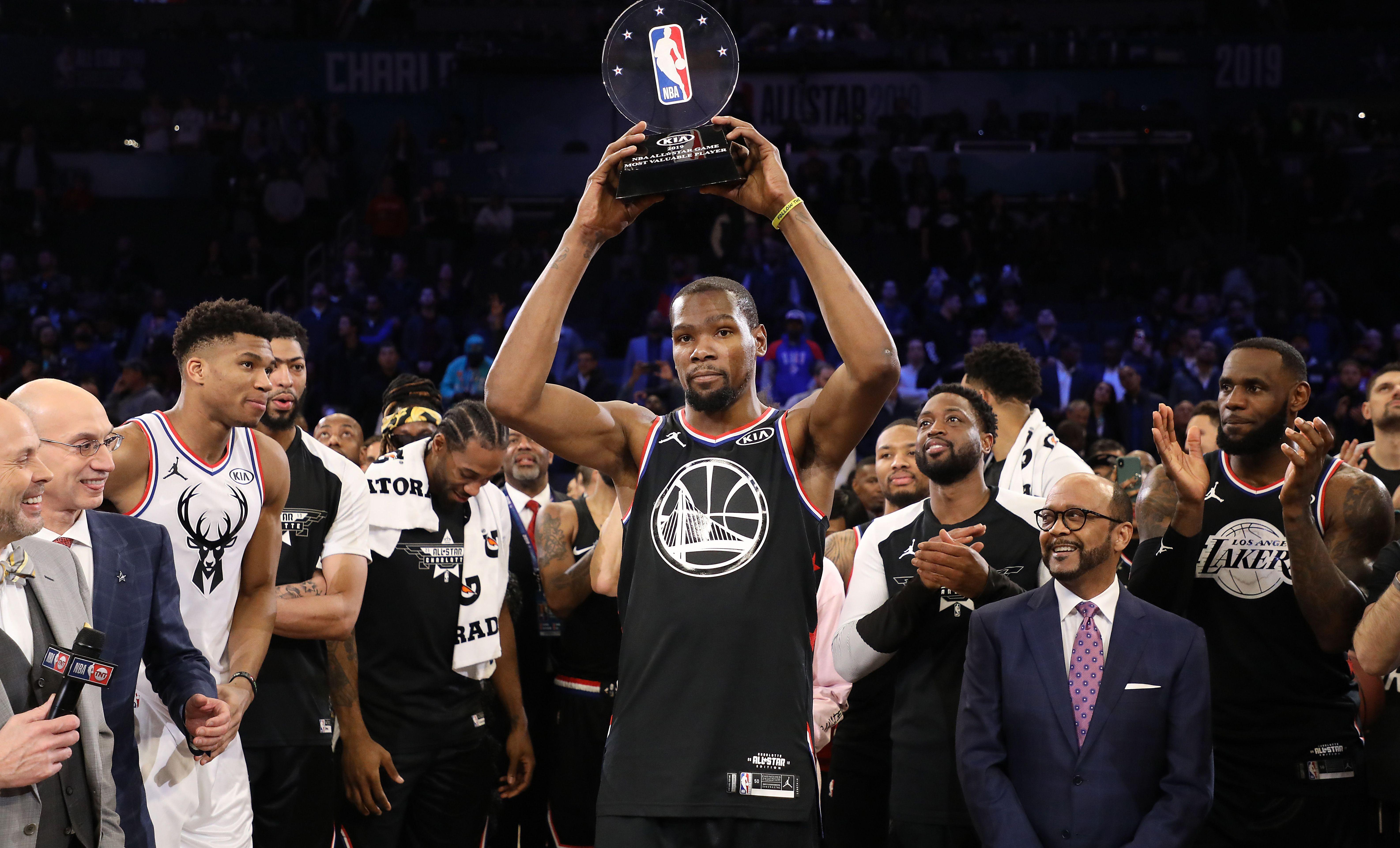 Basket - NBA - Malgré le show Antetokounmpo, Durant et la Team LeBron remportent le All Star Game