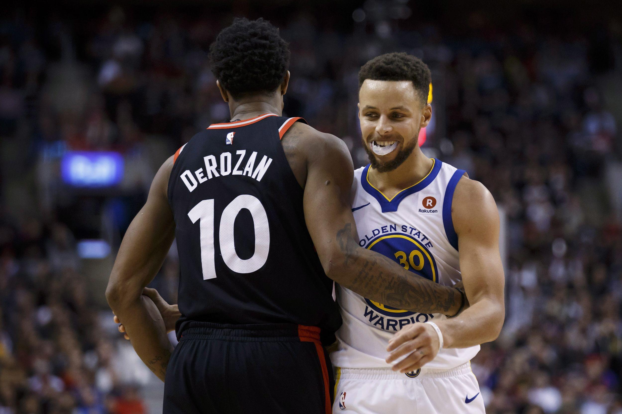 Basket - NBA - D'abord survoltés puis accrochés, les Warriors ne perdent pas le nord à Toronto