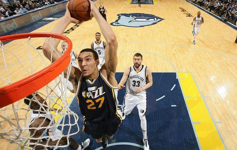 Basket - NBA - Gobert imp�rial face aux Grizzlies