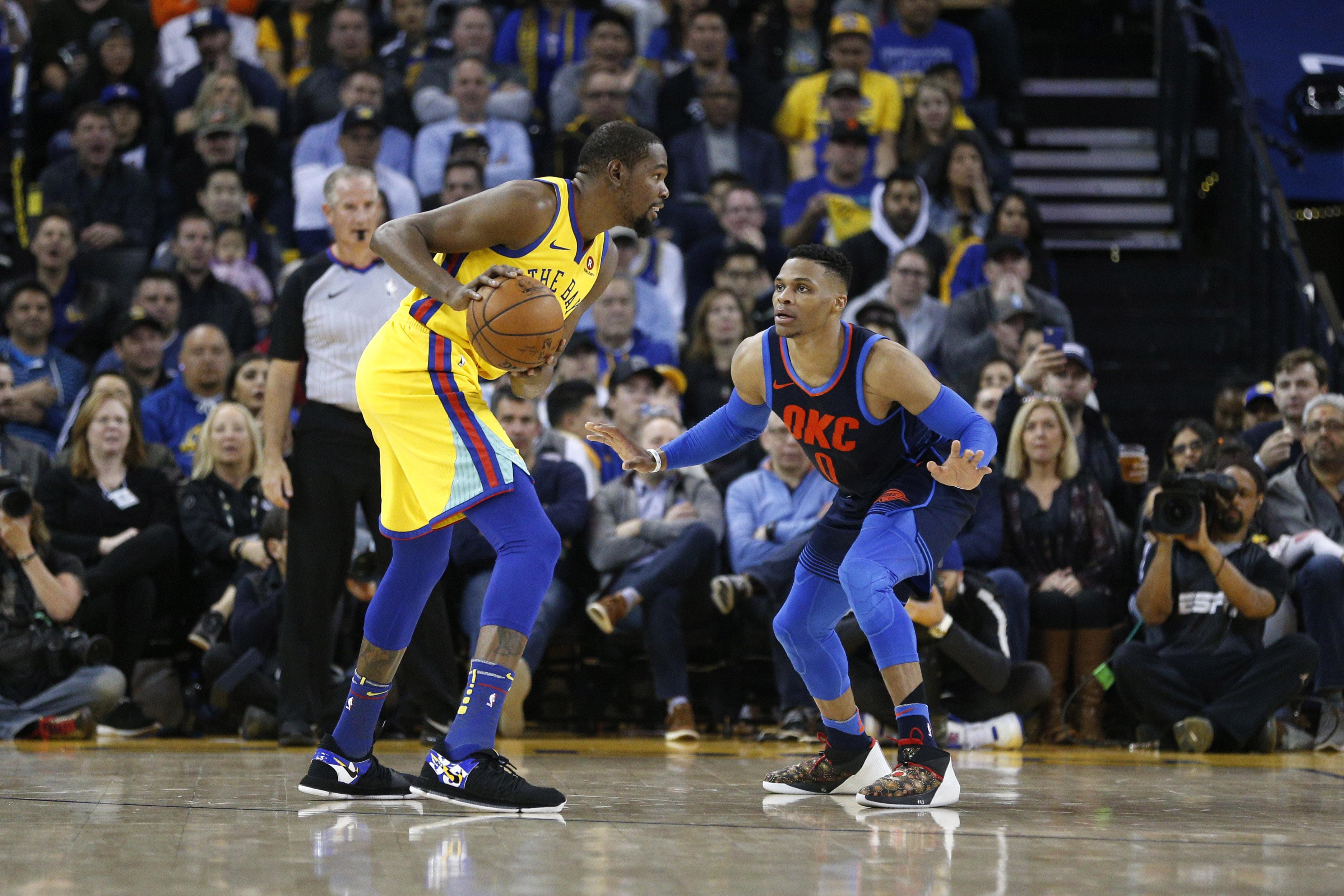 Basket - NBA - Golden State écrase Oklahoma, les résultats de la nuit NBA