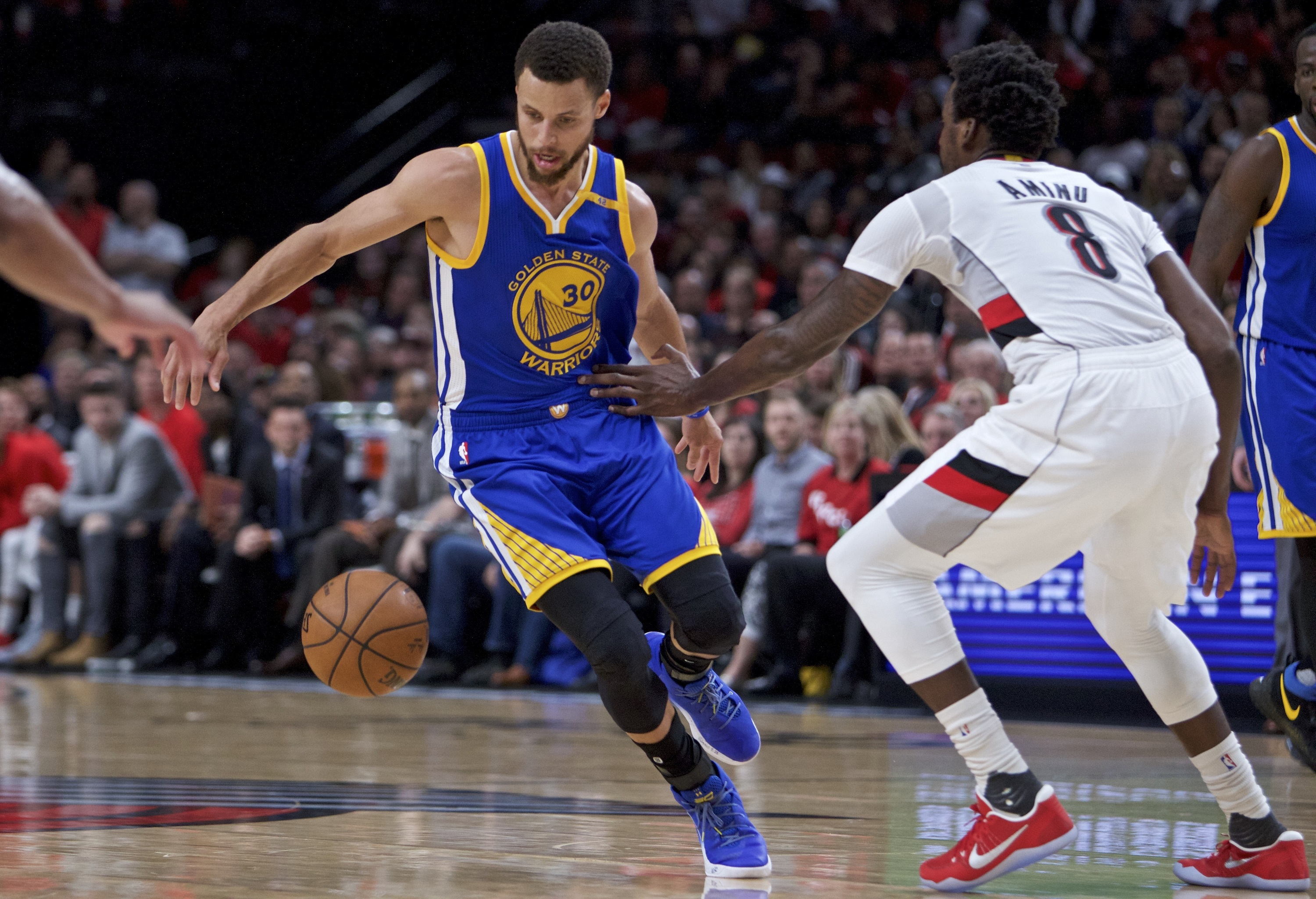 Basket - NBA - Sans pitié, les Warriors dévorent Portland et filent au 2e tour