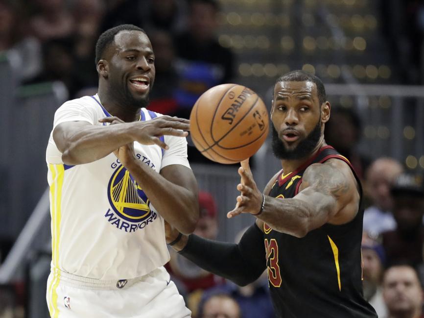 Basket - NBA - Golden State enfonce Cleveland, Ntilikina et Markkanen brillent