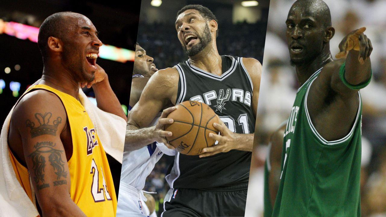 Basket - NBA - Hall of Fame : Bryant du ciel au panthéon, Duncan et Garnett à l'honneur aussi