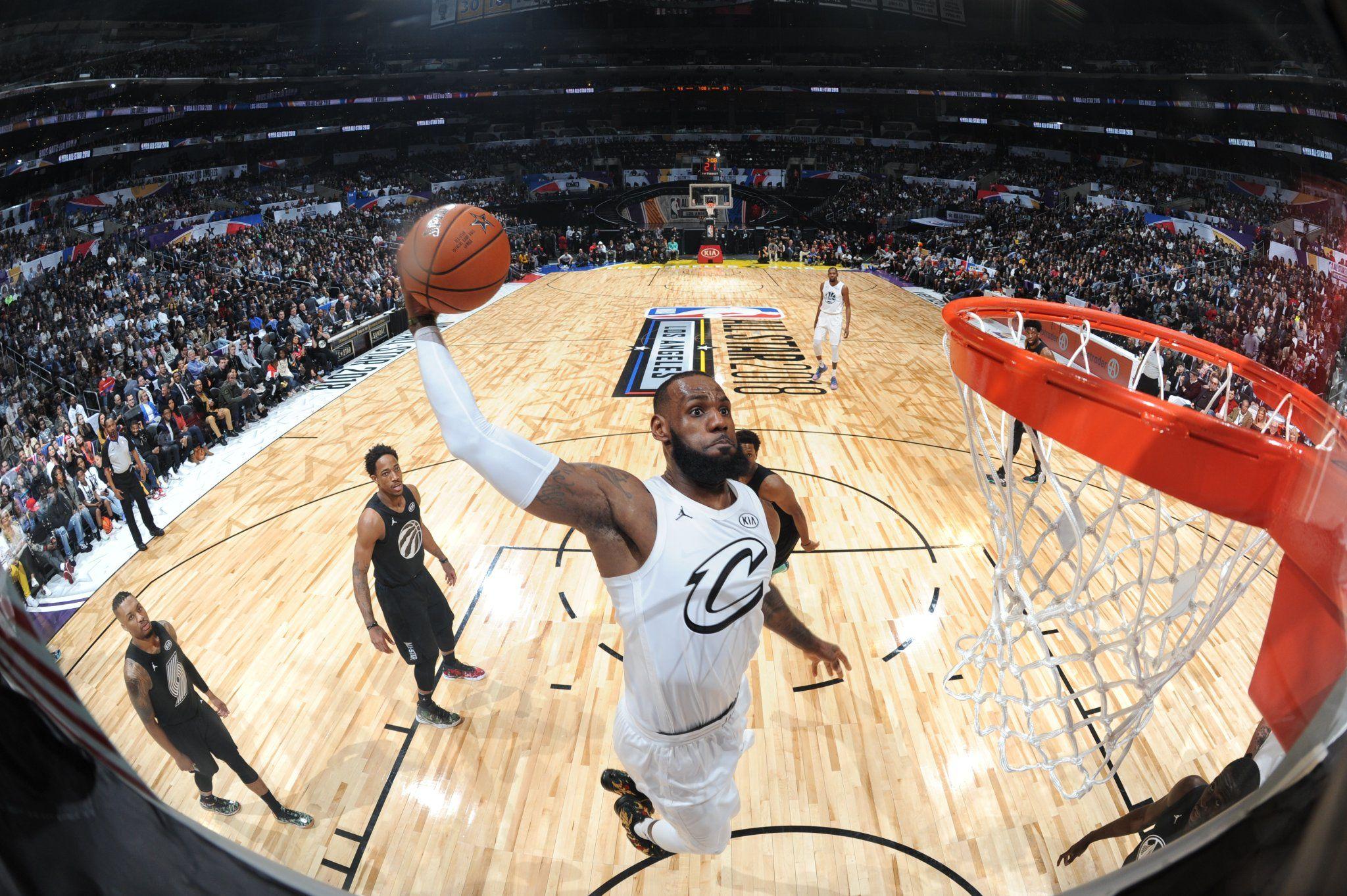 Basket - NBA - Hold-up de la Team LeBron dans un All Star Game sérieux, James MVP