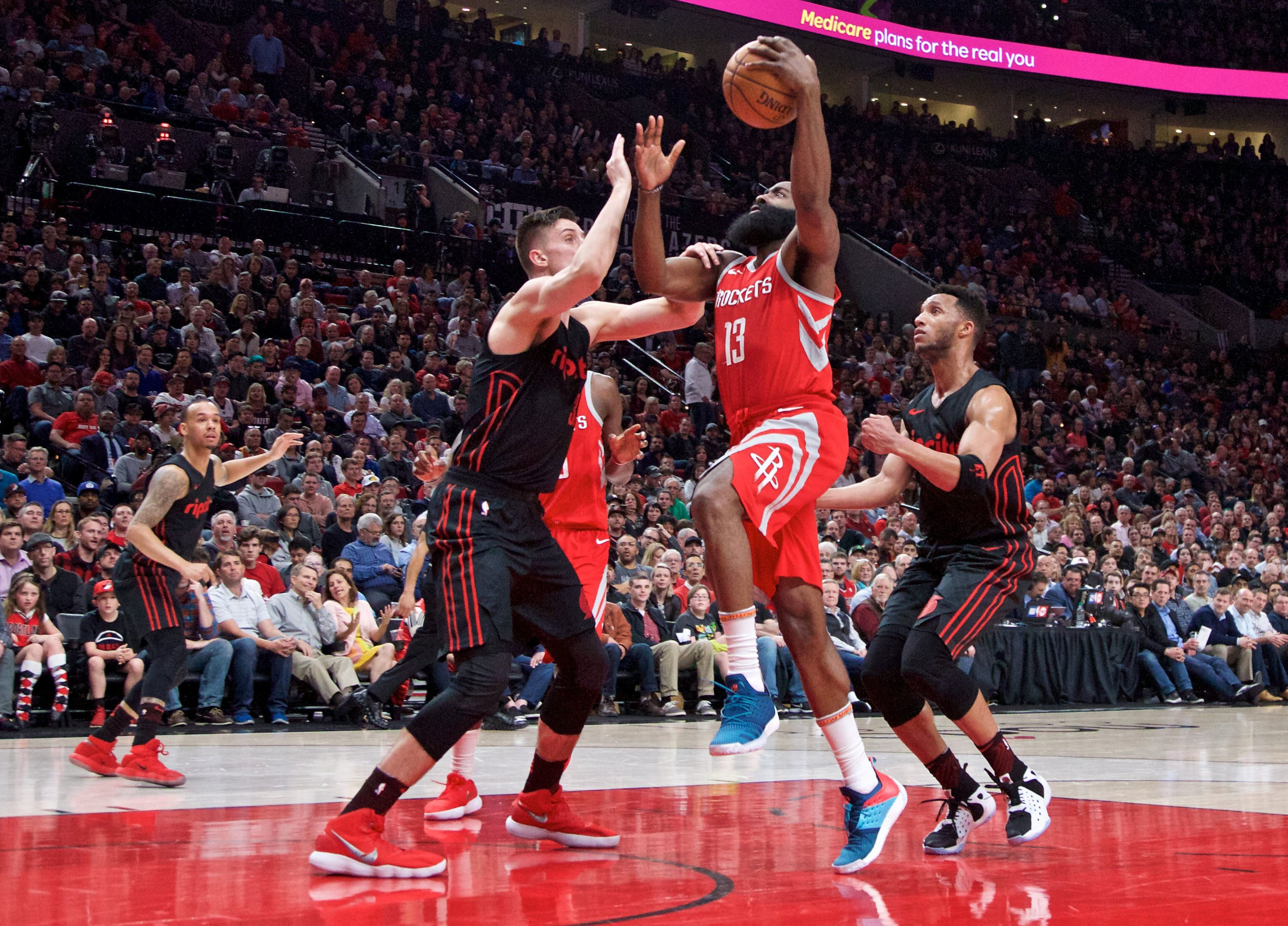 Basket - NBA - Houston fait chuter Portland