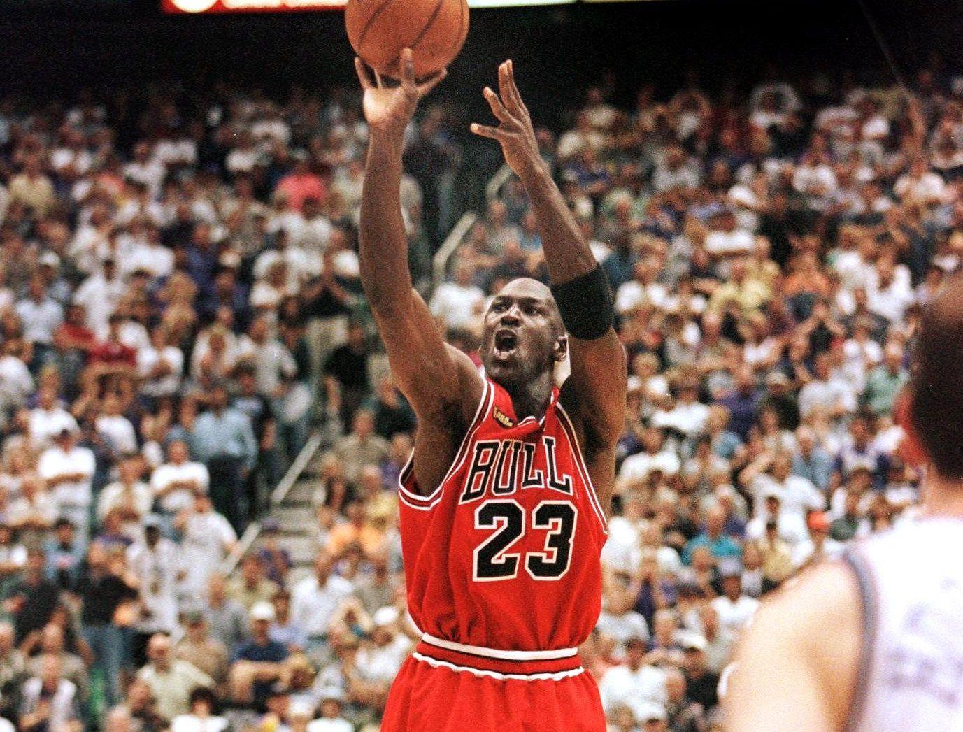 nouveau produit 6a9c3 9e65f Il y a 20 ans, Michael Jordan rentrait «The Shot» (vidéo ...