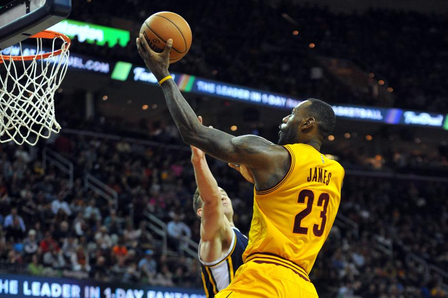 Basket - NBA - James et les Cavs font d�chanter le Jazz