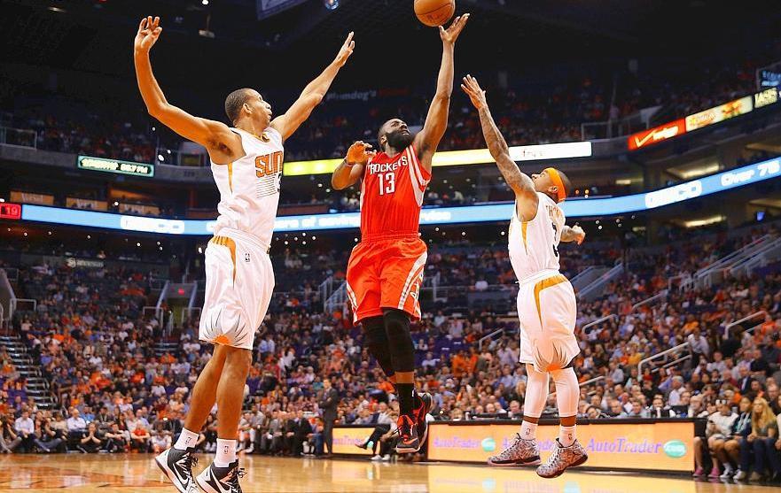 Basket - NBA - James Harden couche les Suns
