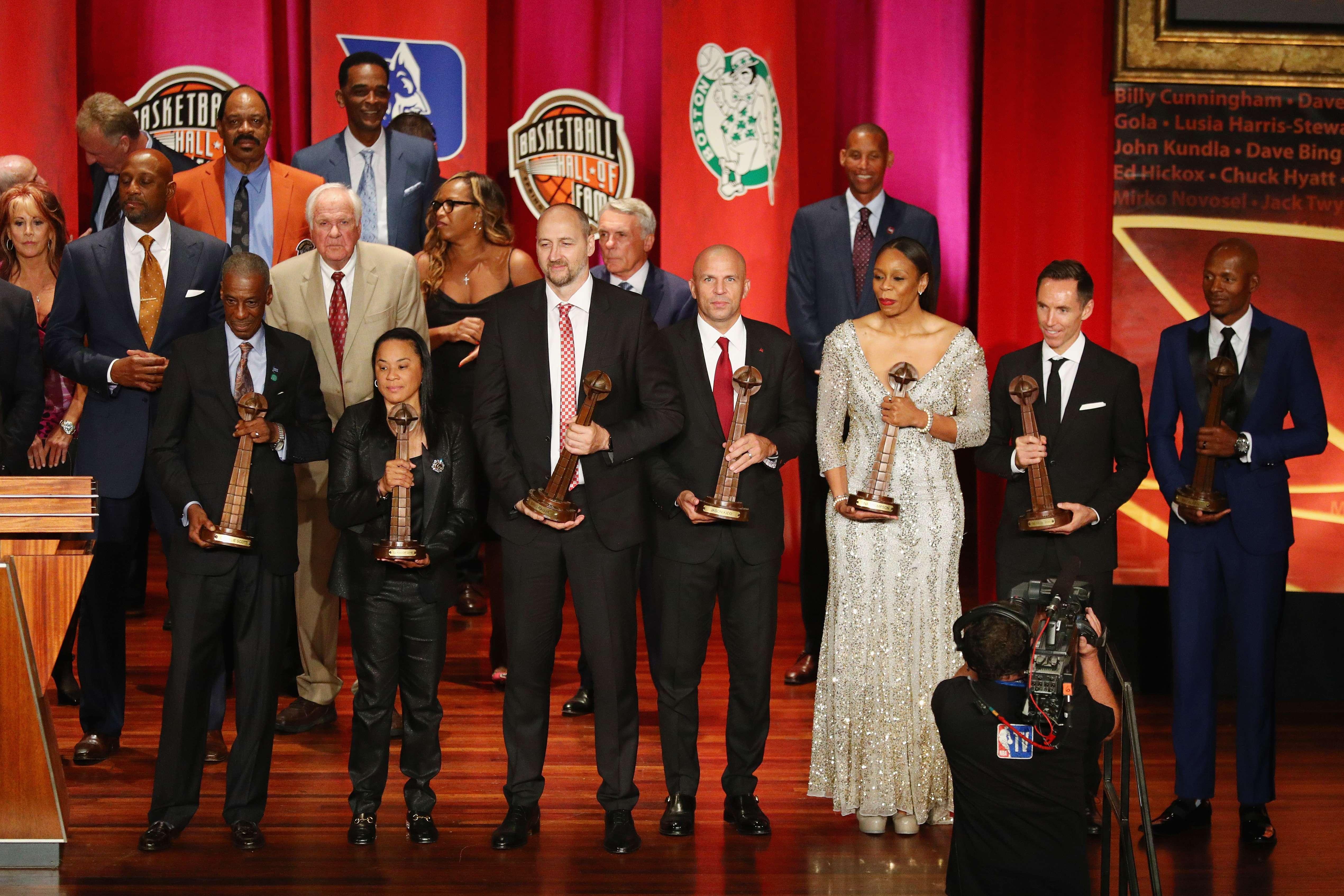 Basket - NBA - Jason Kidd et Steve Nash officiellement au Hall of Fame