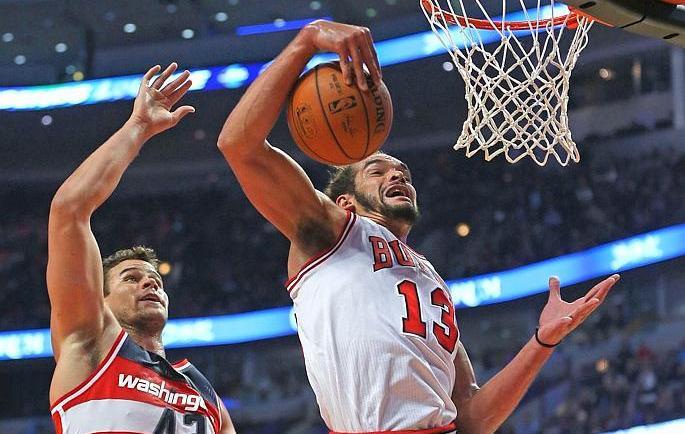 Basket - NBA - Joakim Noah d�j� � fond