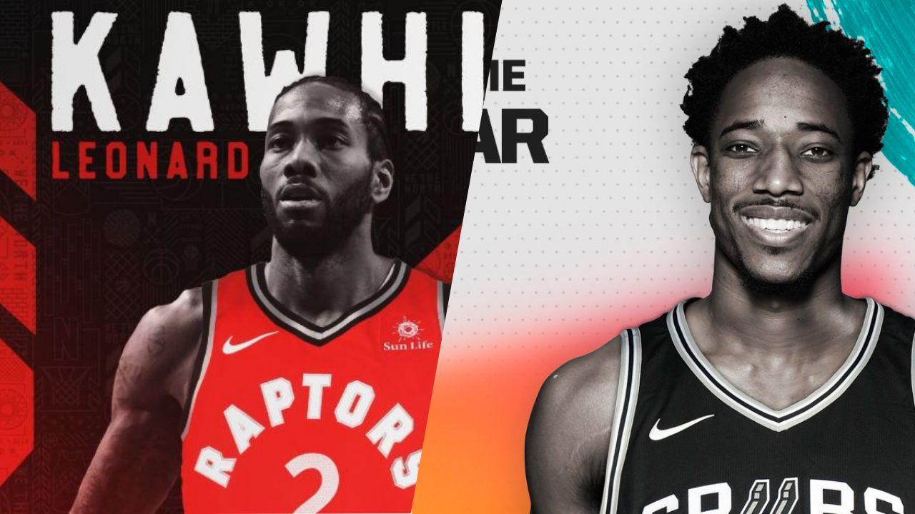 Basket - NBA - Kawhi Leonard à Toronto, DeMar DeRozan à San Antonio