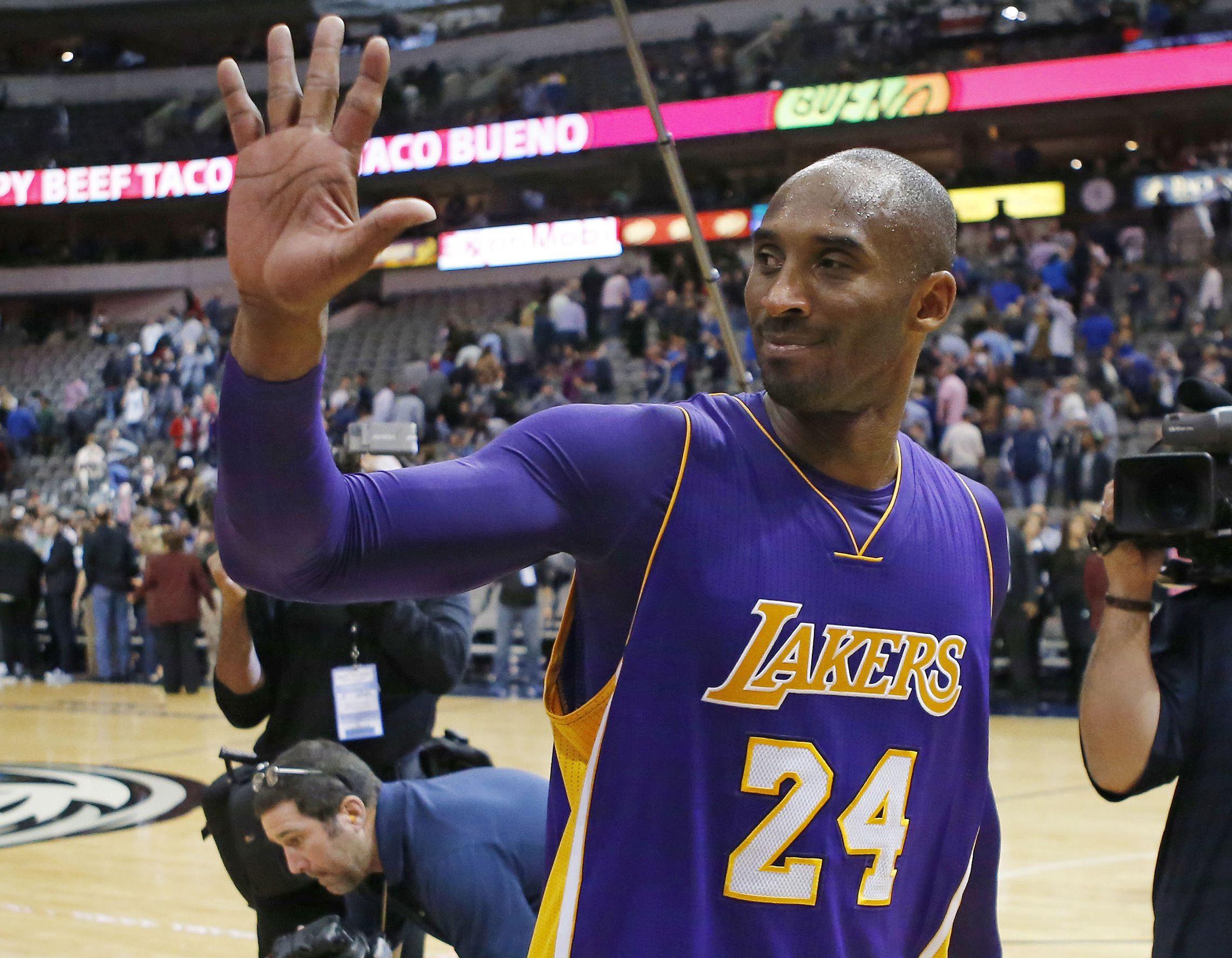 Basket - NBA - La tourn�e d?adieu de Kobe Bryant tourne au path�tique