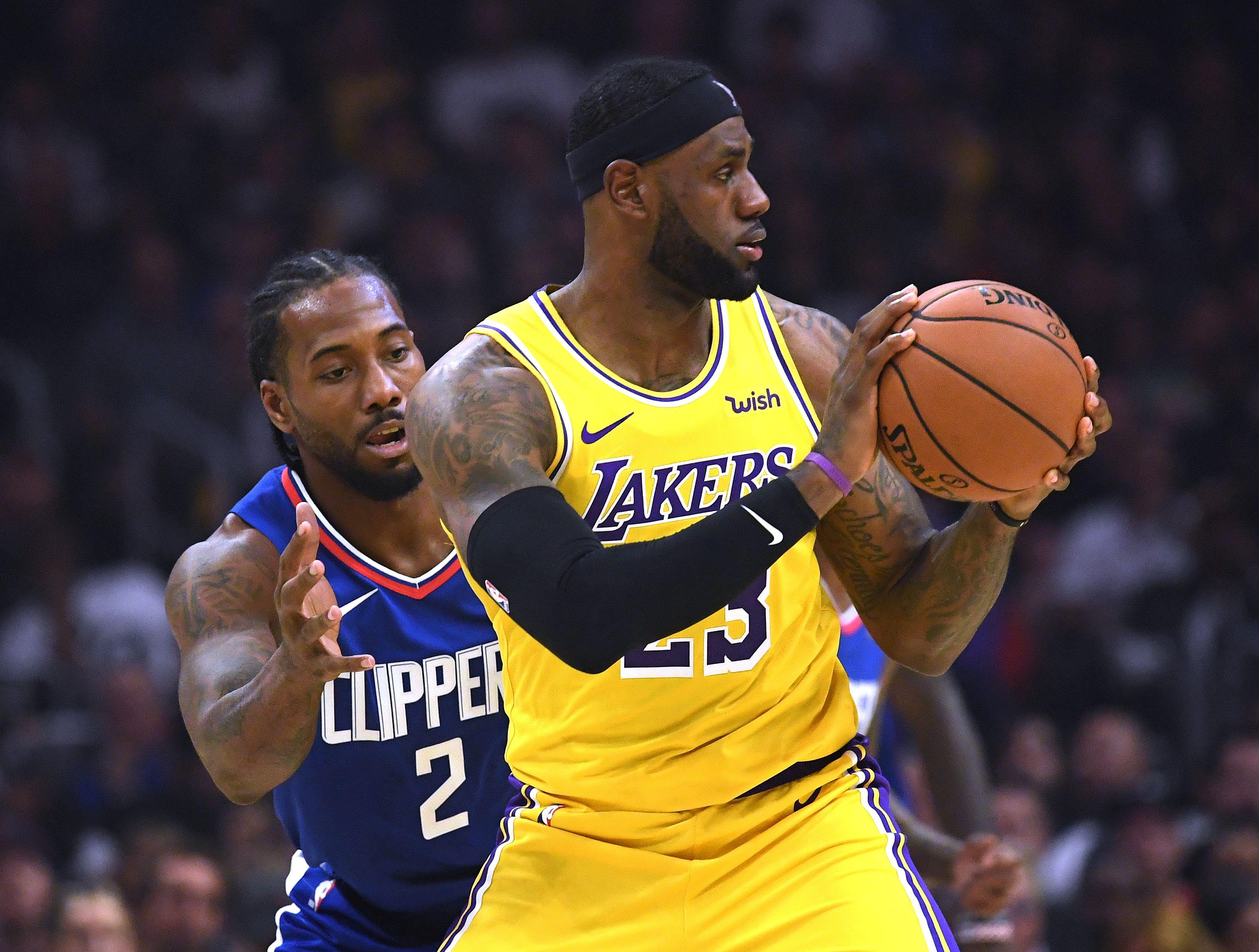Basket - NBA - Les Clippers s'offrent le duel de Los Angeles face au Lakers