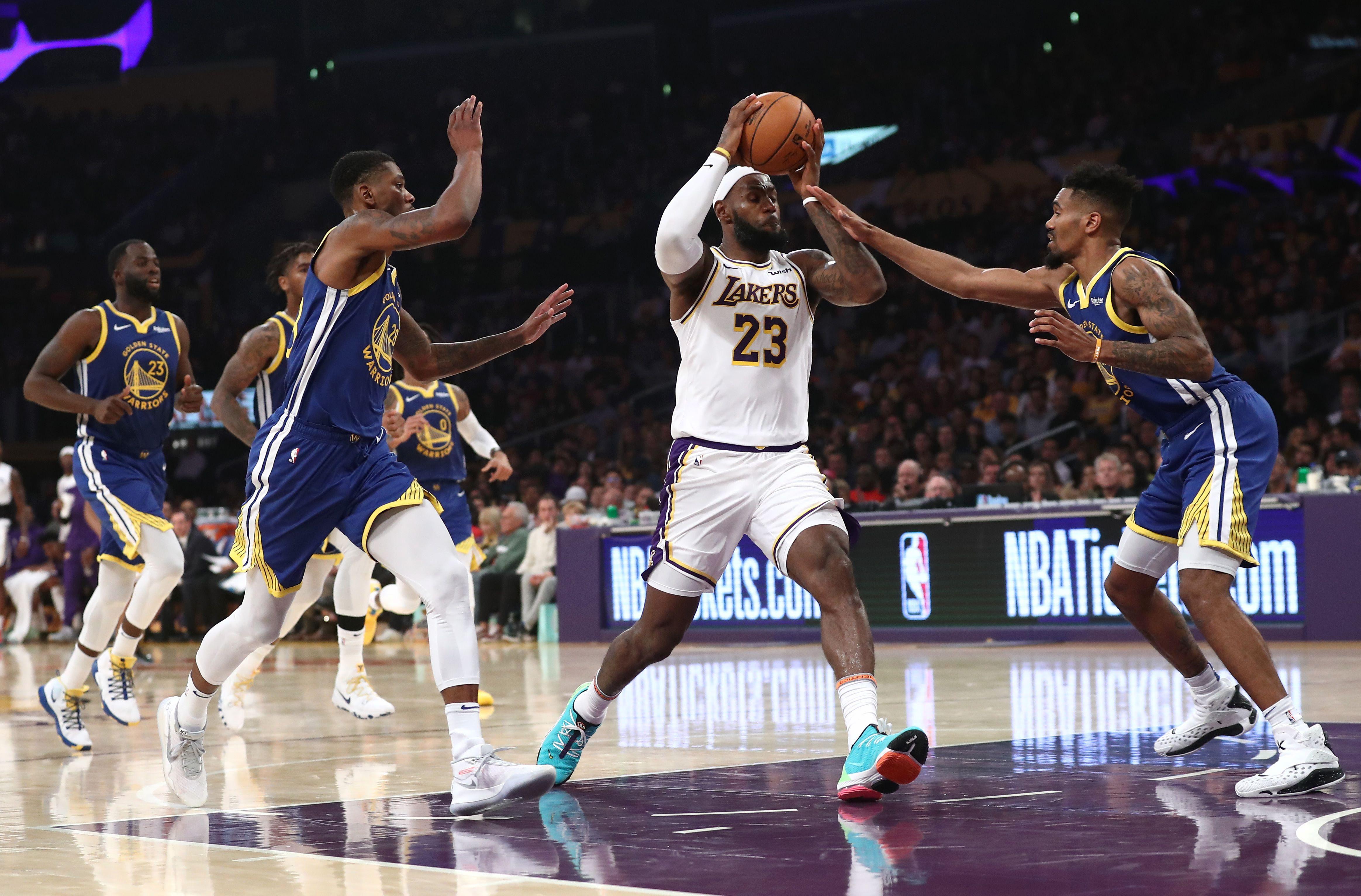 Basket - NBA - Le tour de magie de LeBron James