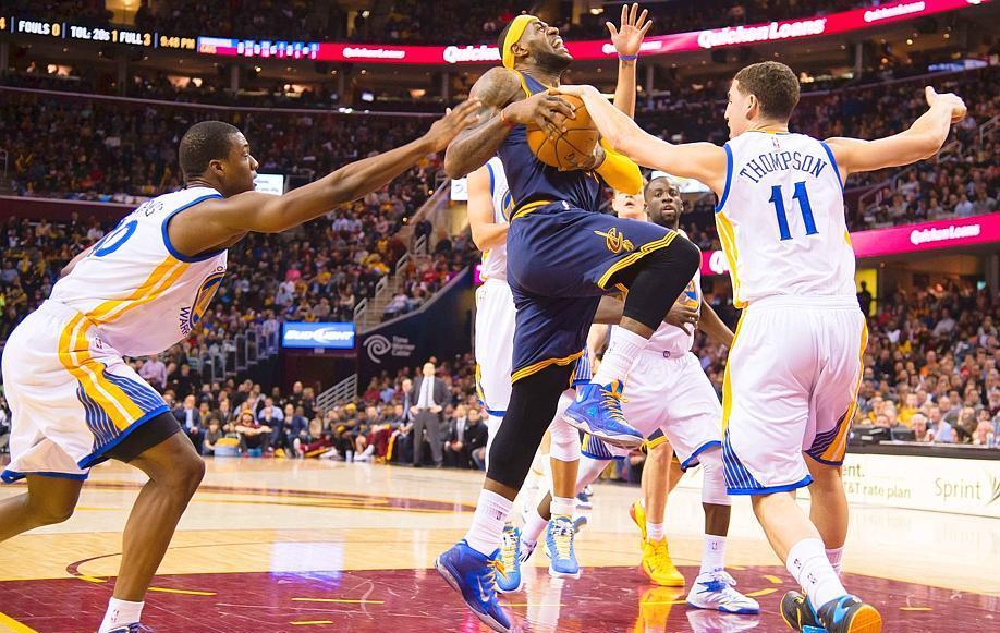 Basket - NBA - LeBron James d�colle, le Thunder atterrit