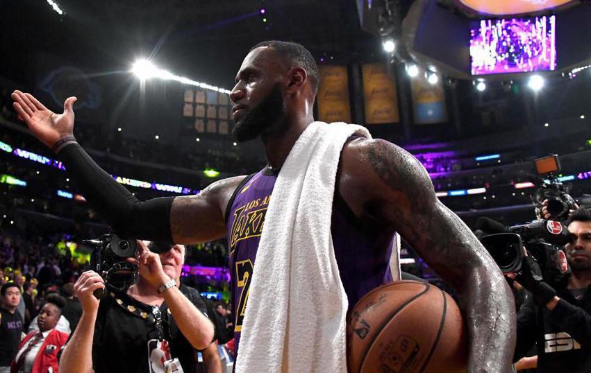 Basket - NBA - LeBron James devient le 5e meilleur marqueur de l'histoire