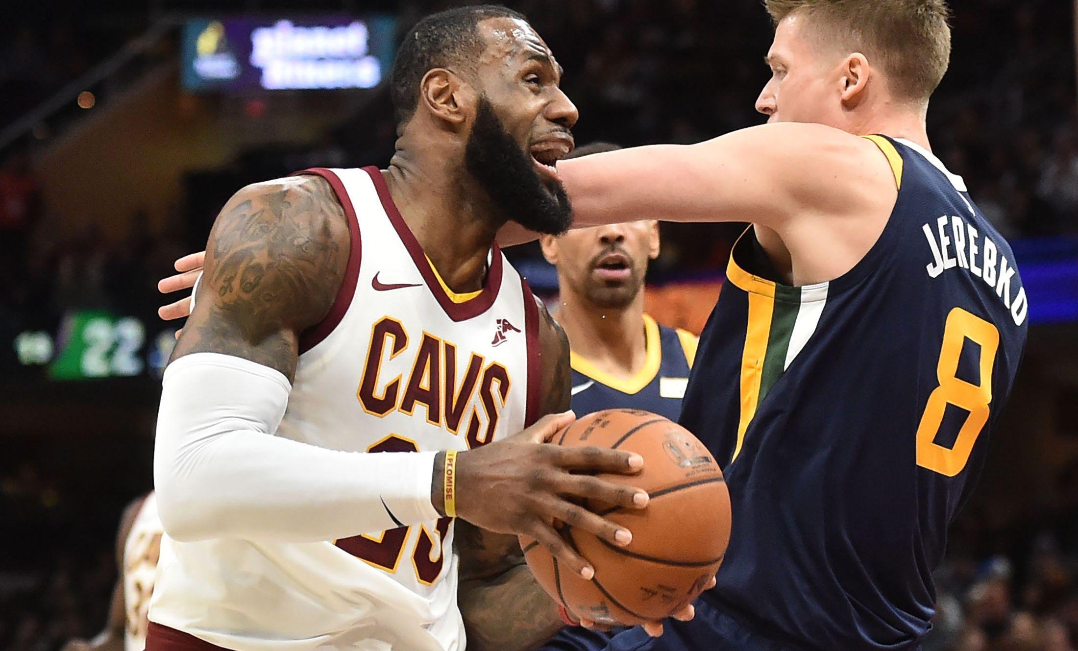 Basket - NBA - LeBron James fait danser le Jazz, Ginobili fait gagner San Antonio