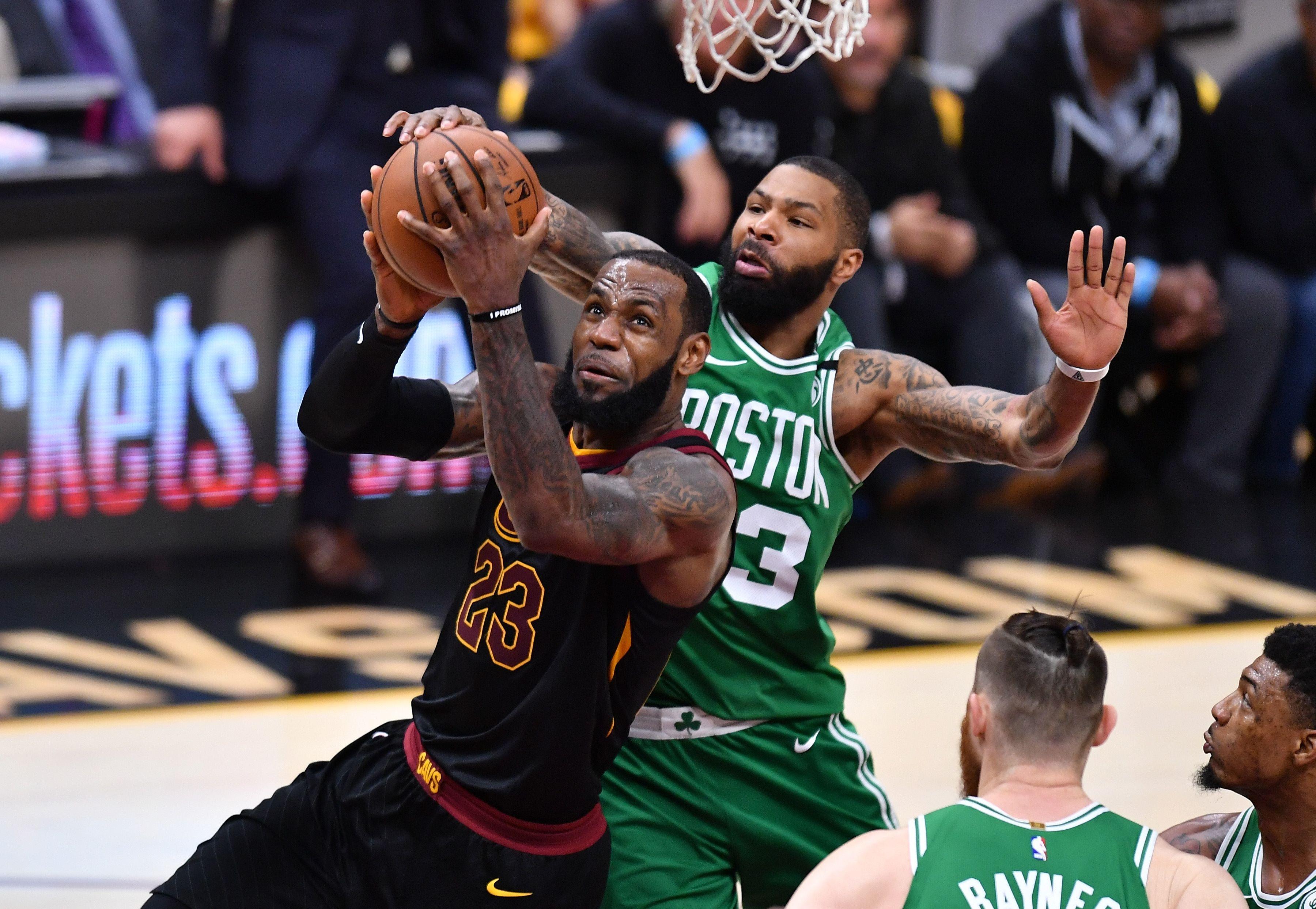 Basket - NBA - LeBron James ramène Cleveland à hauteur de Boston