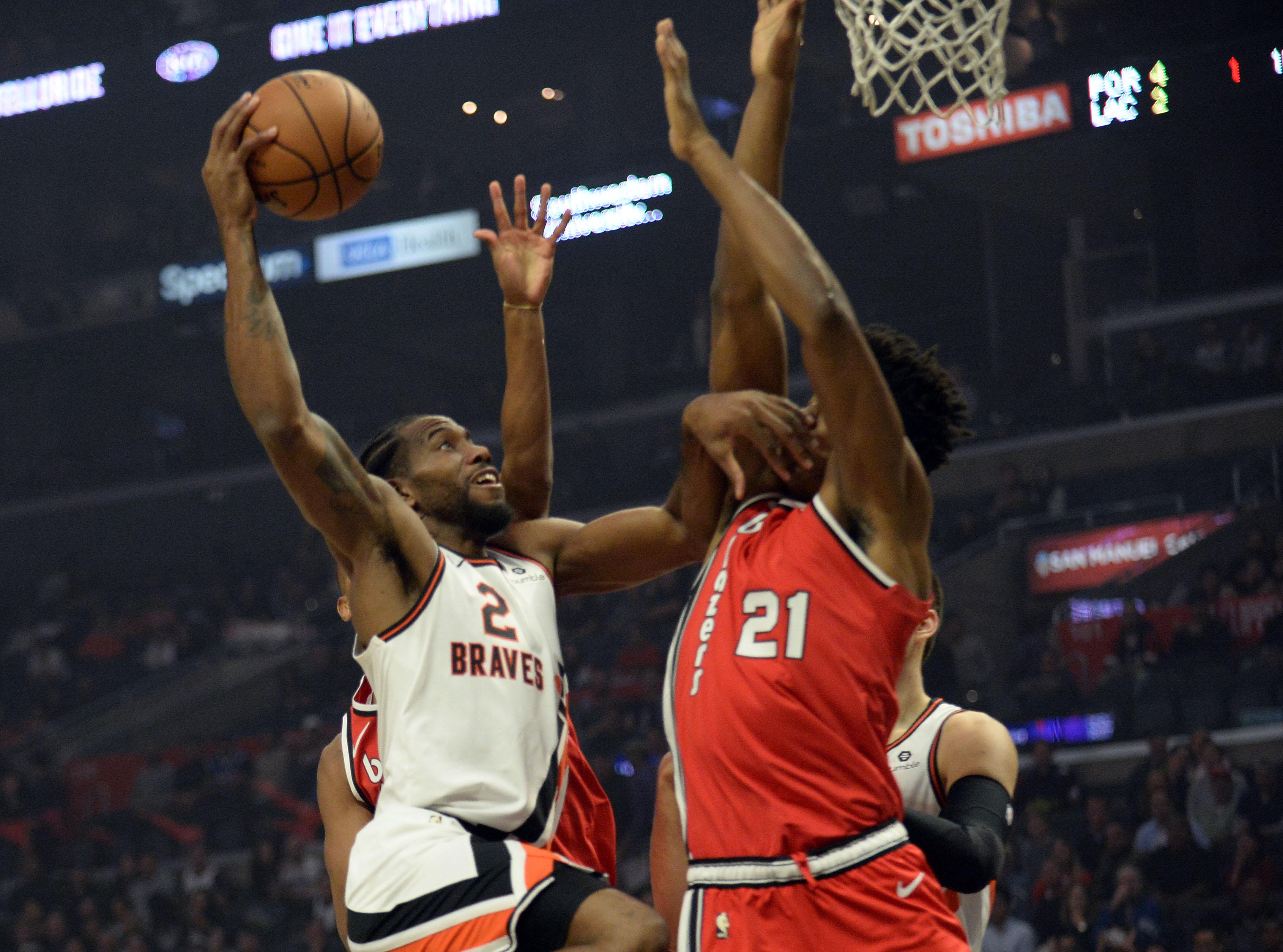Basket - NBA - Leonard sauve les Clippers, Miami fait le show