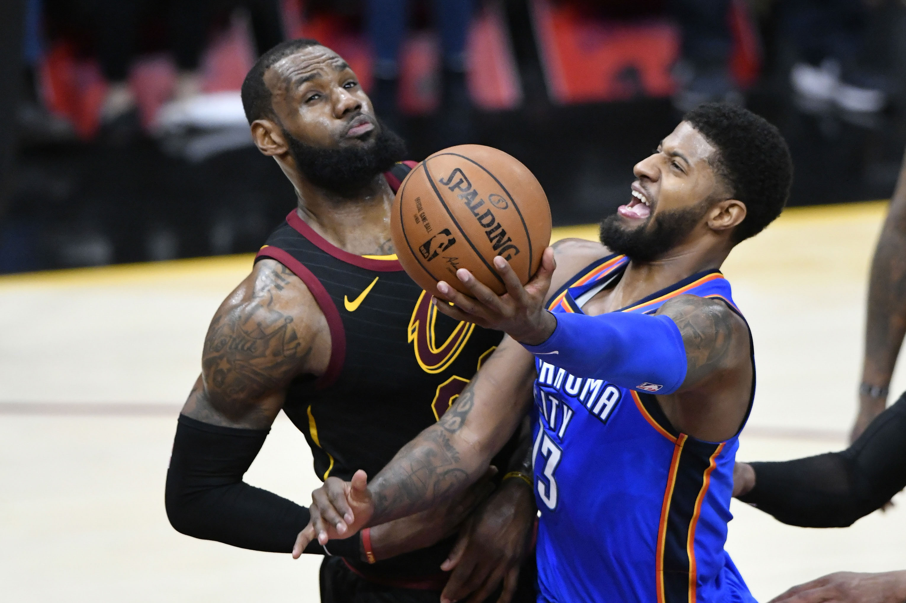 Basket - NBA - Oklahoma City passe 148 points à des Cavaliers sans défense