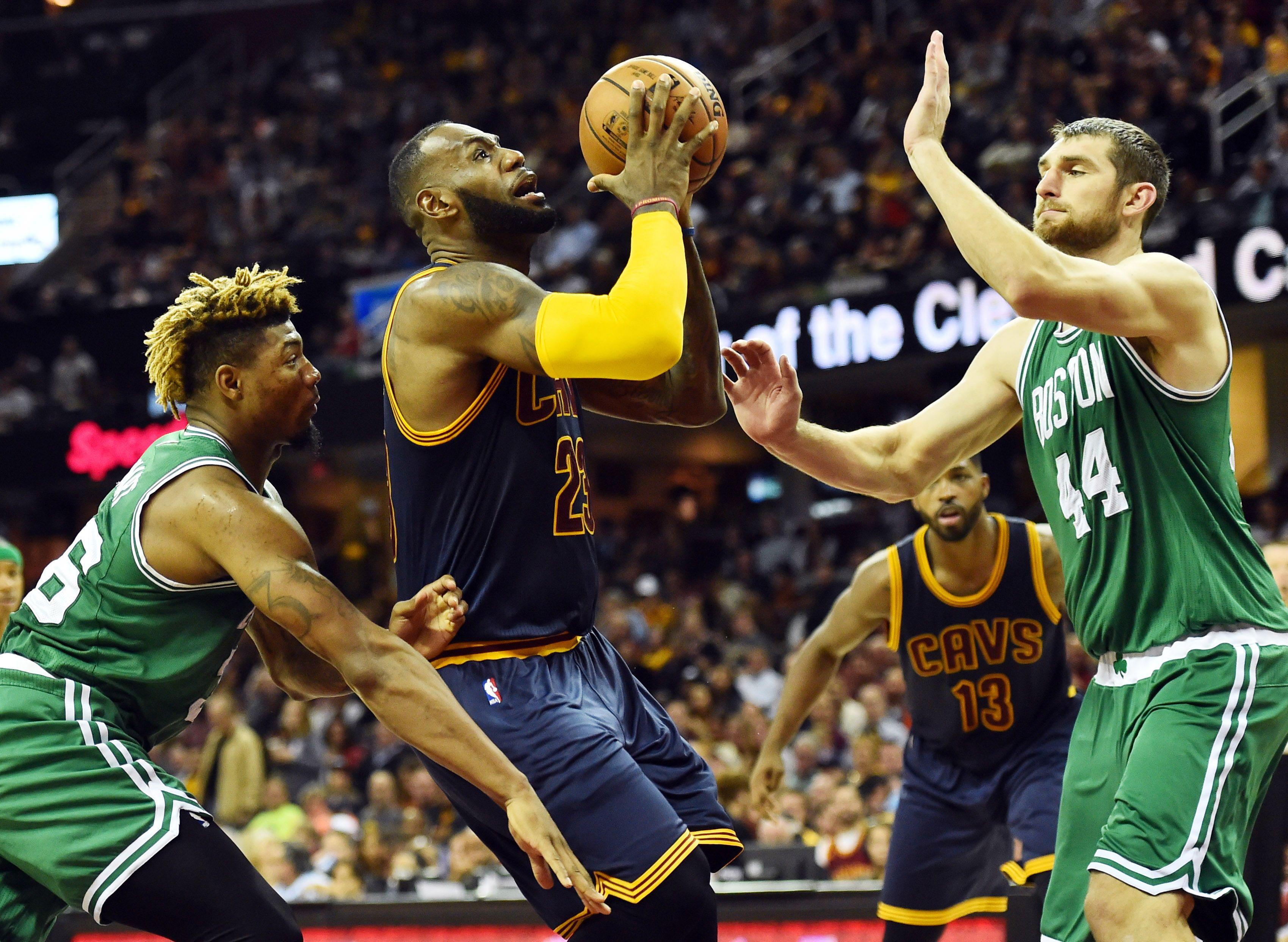 Basket - NBA - Les Cavs éparpillent Boston et retrouvent Golden State en Finales