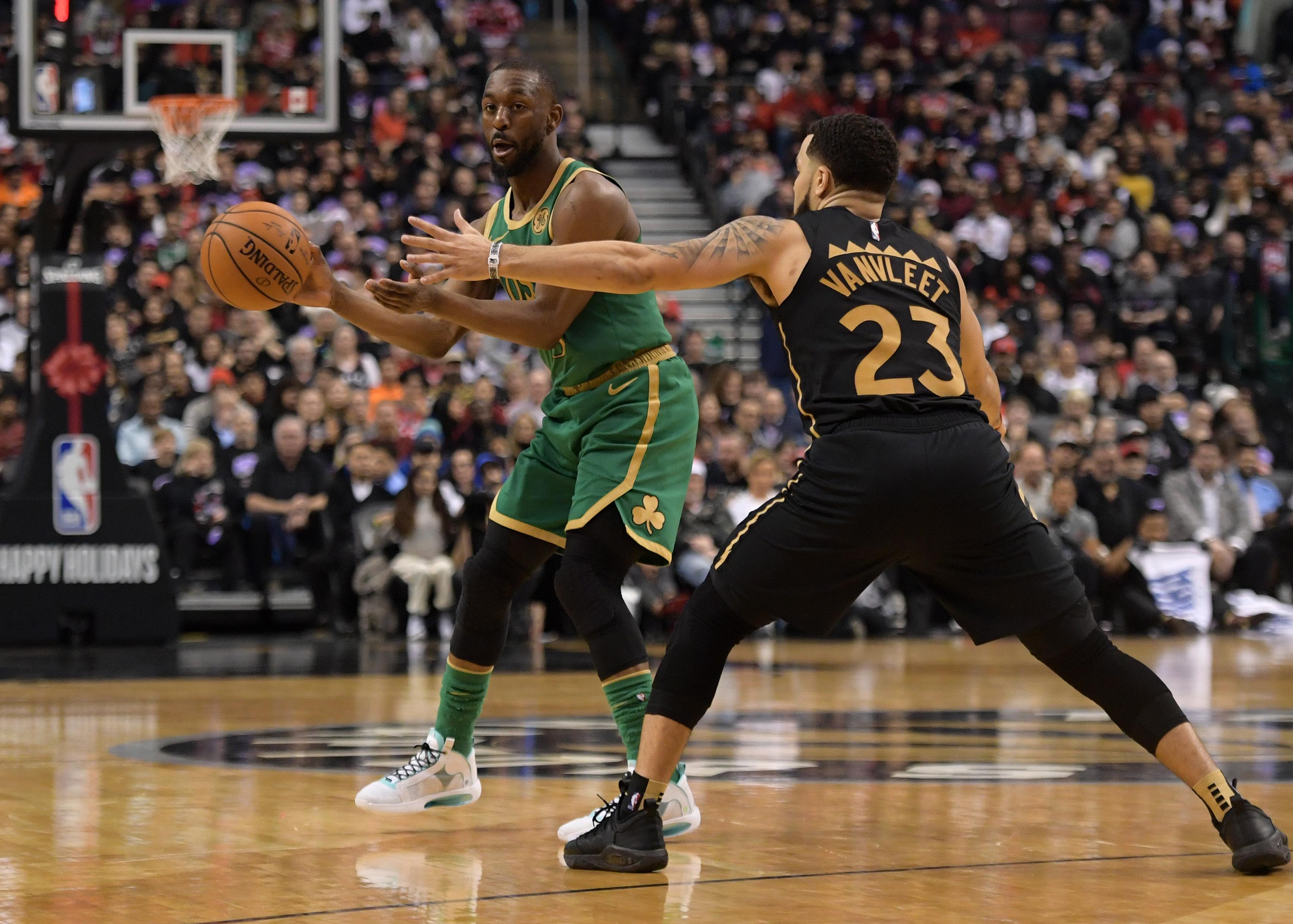 Basket - NBA - Les Celtics gâchent le premier «Christmas game» des Raptors à domicile