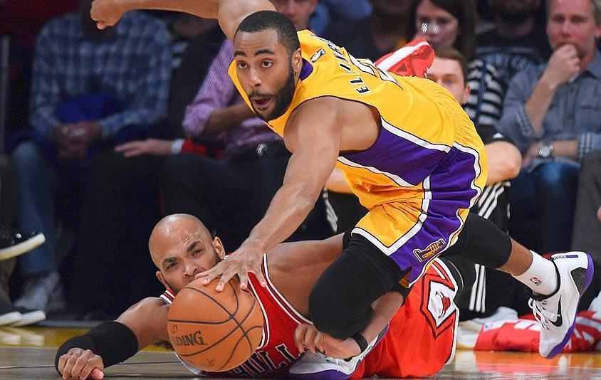 Basket - NBA - Les Lakers s?offrent Chicago apr�s deux prolongations