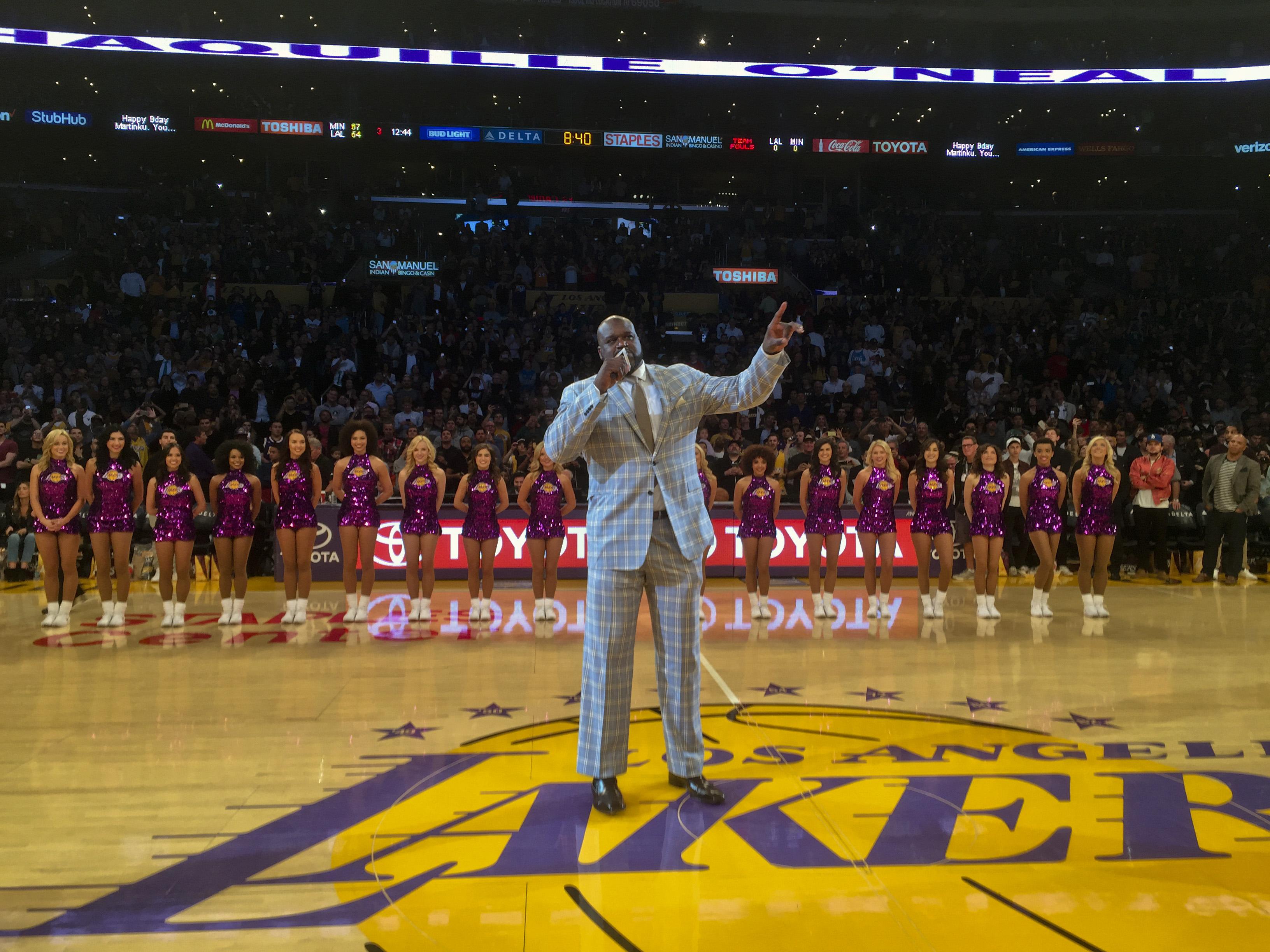 Basket - NBA - Les meilleurs moments de Shaquille O'Neal aux Lakers en vidéo