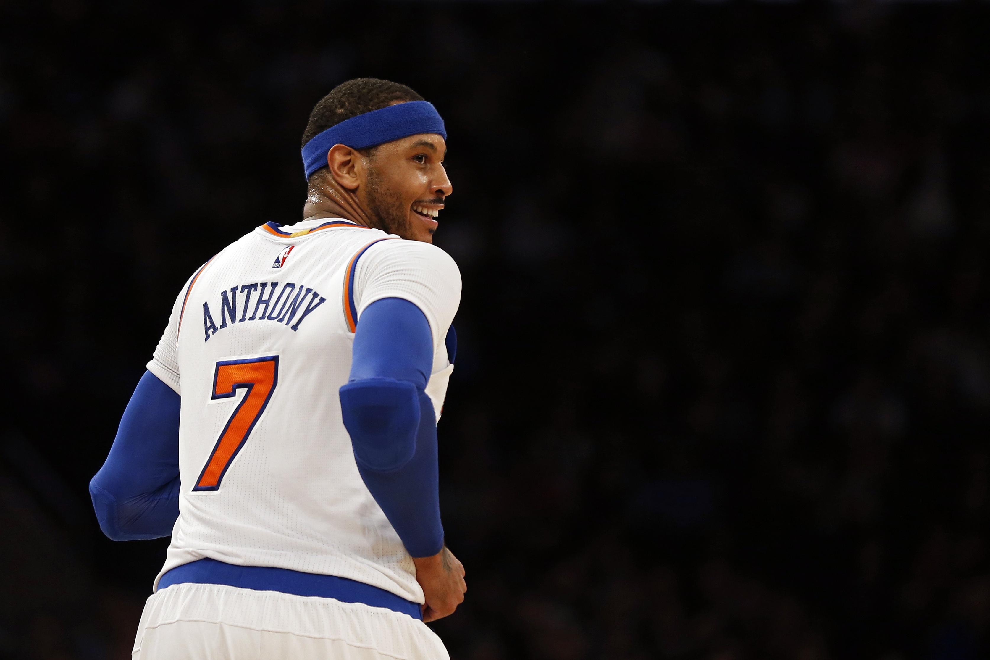 Basket - NBA - Malgré la crise actuelle, Anthony ne veut pas quitter les Knicks