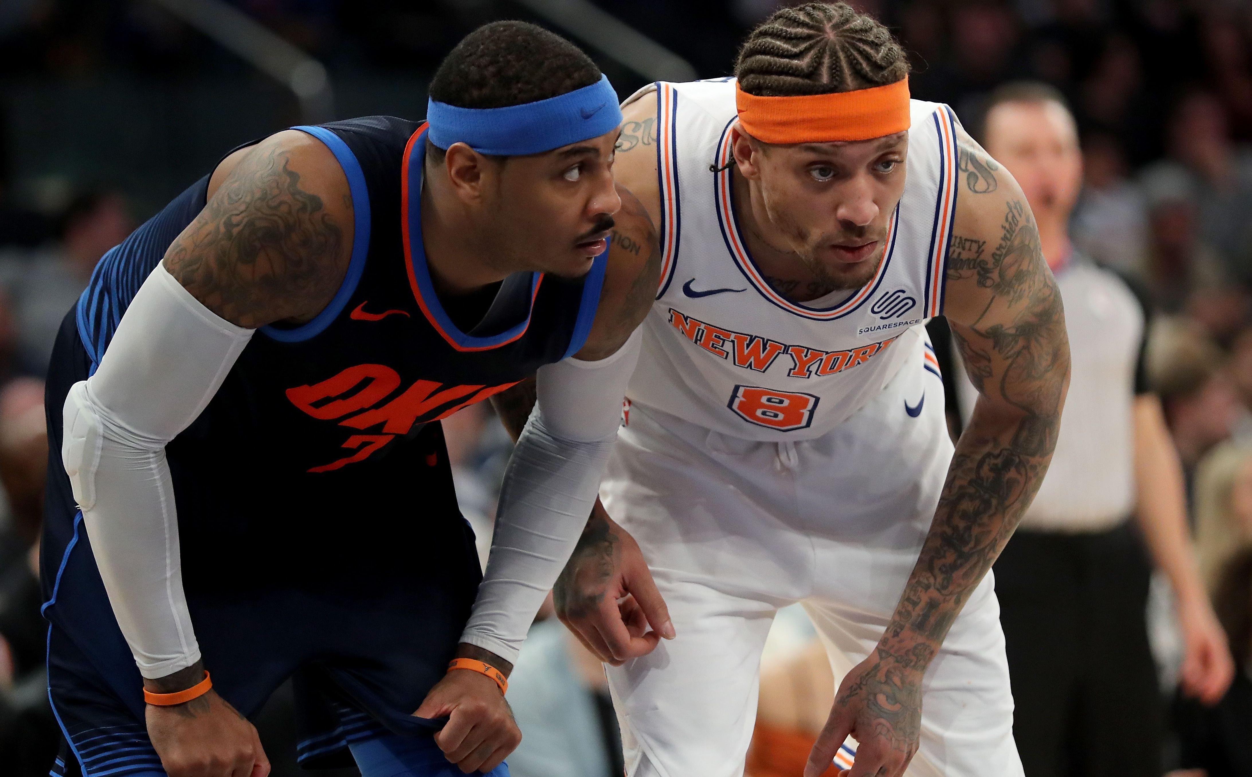 Basket - NBA - «Melo» déjà mélancolique des Knicks